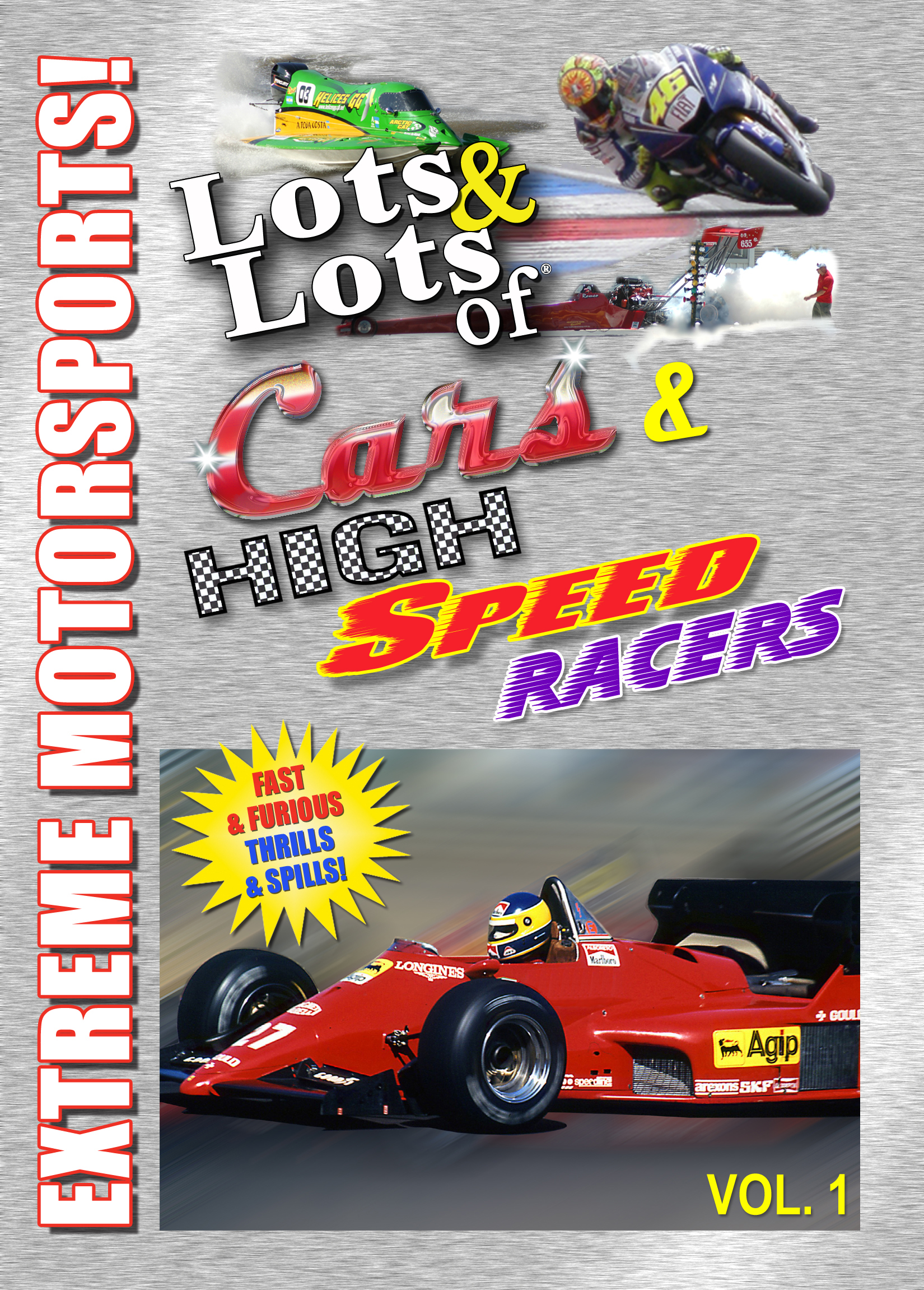 all about lots lots of fast cars monster trucks and high speed racers vol 1 dvd by motorsports drivers