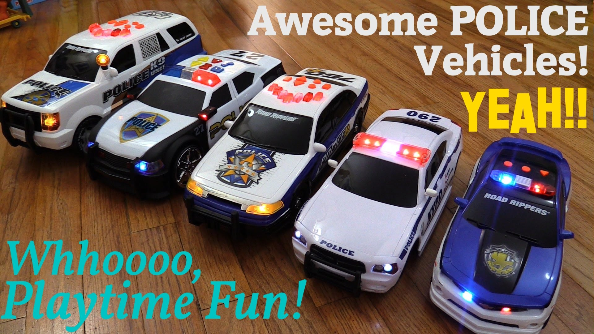 awesome children s toys battery operated police toy cars and rc playtime w hulyan maya youtube