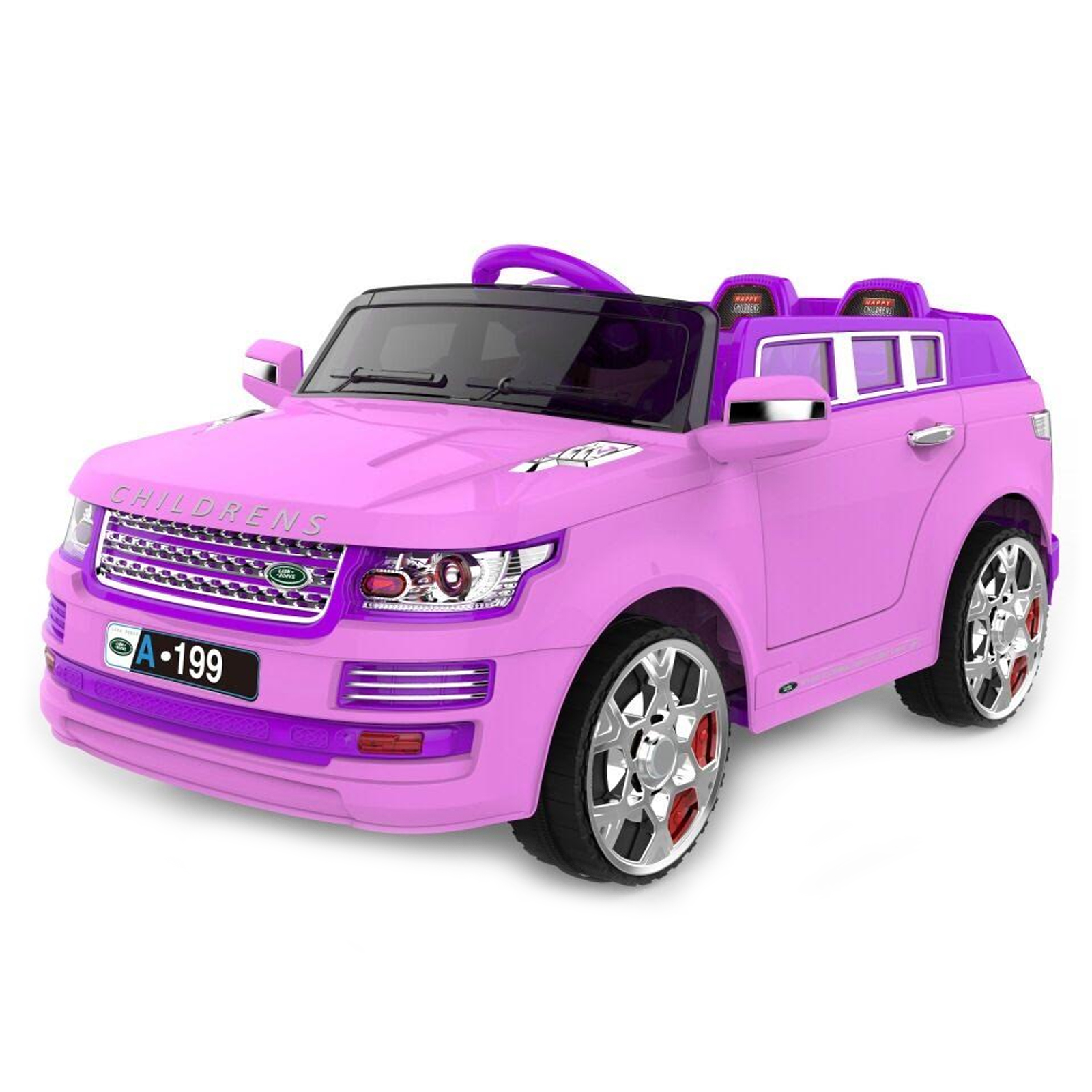 luxury suv 12v kids battery powered ride on car in pink