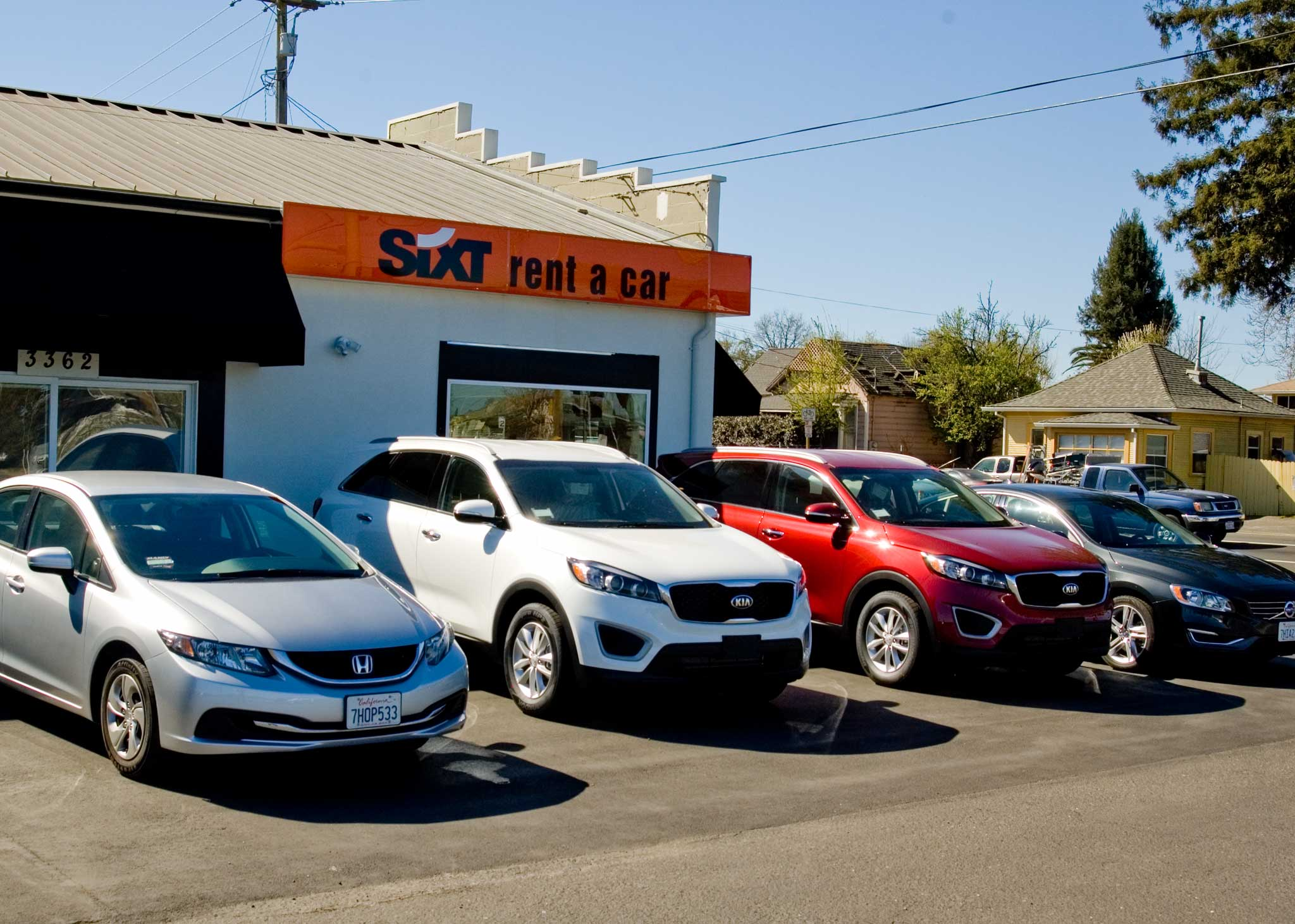 new rental cars at sixt of fulton california