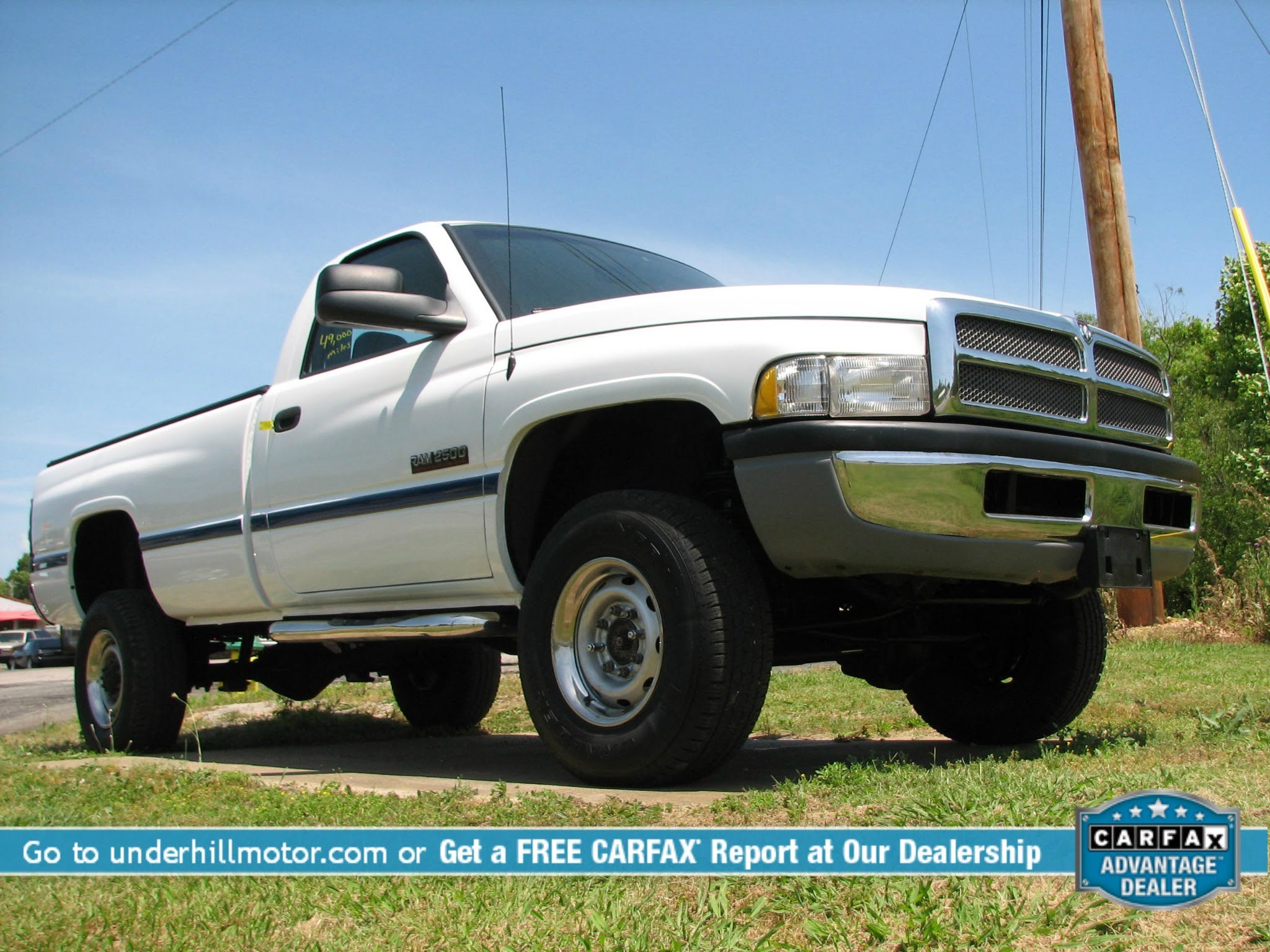 2001 dodge ram 2500 used cars dickson tennessee carfax one owner