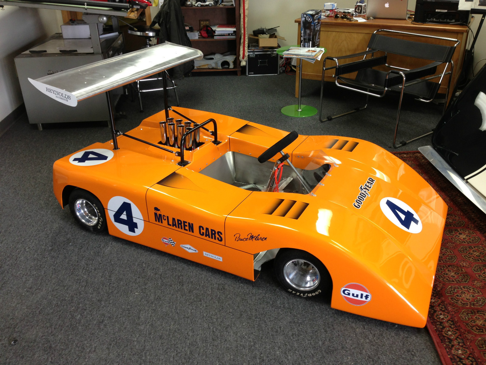 half scale mclaren m8b can am car h