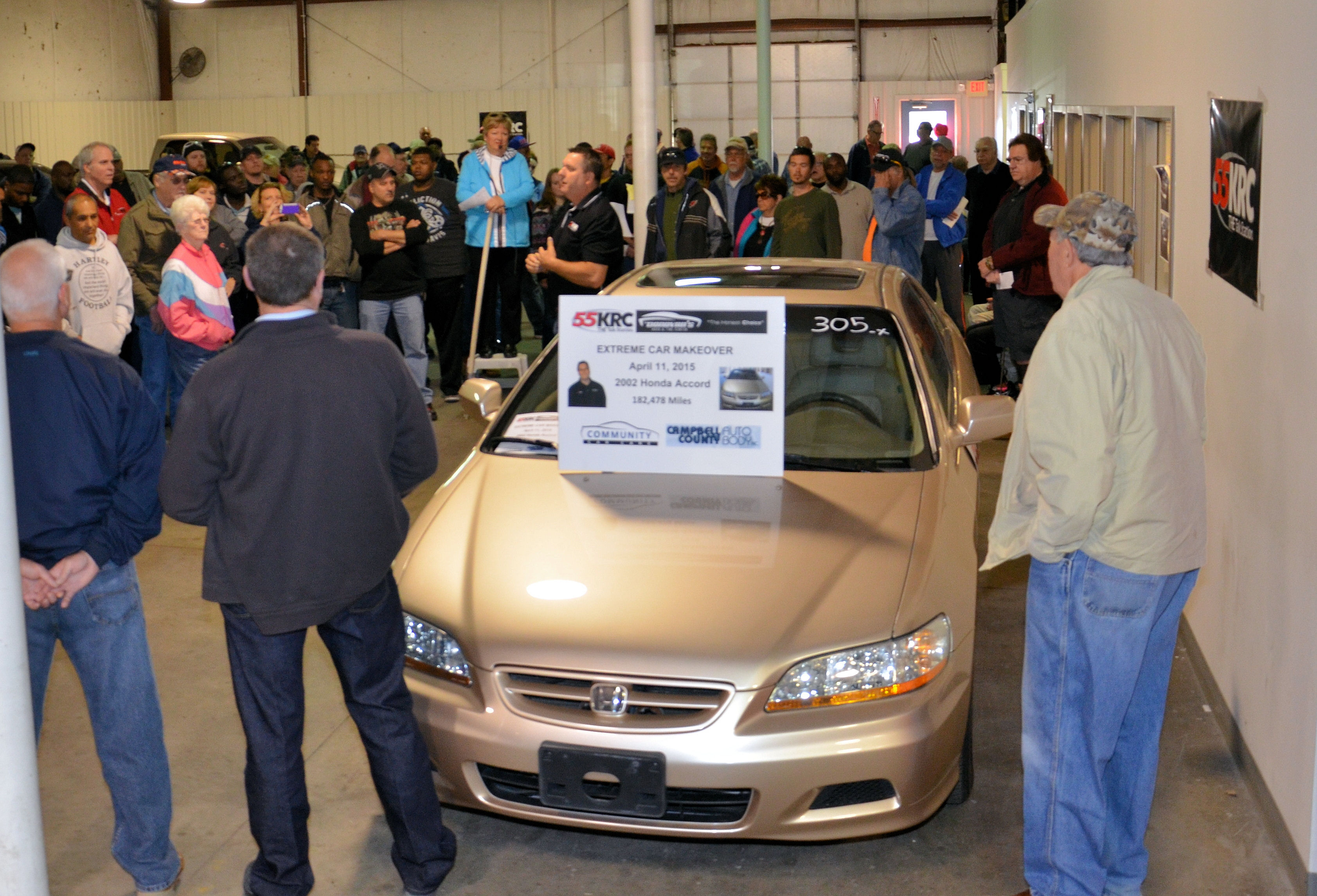 55krc spring extreme makeover car sale a success