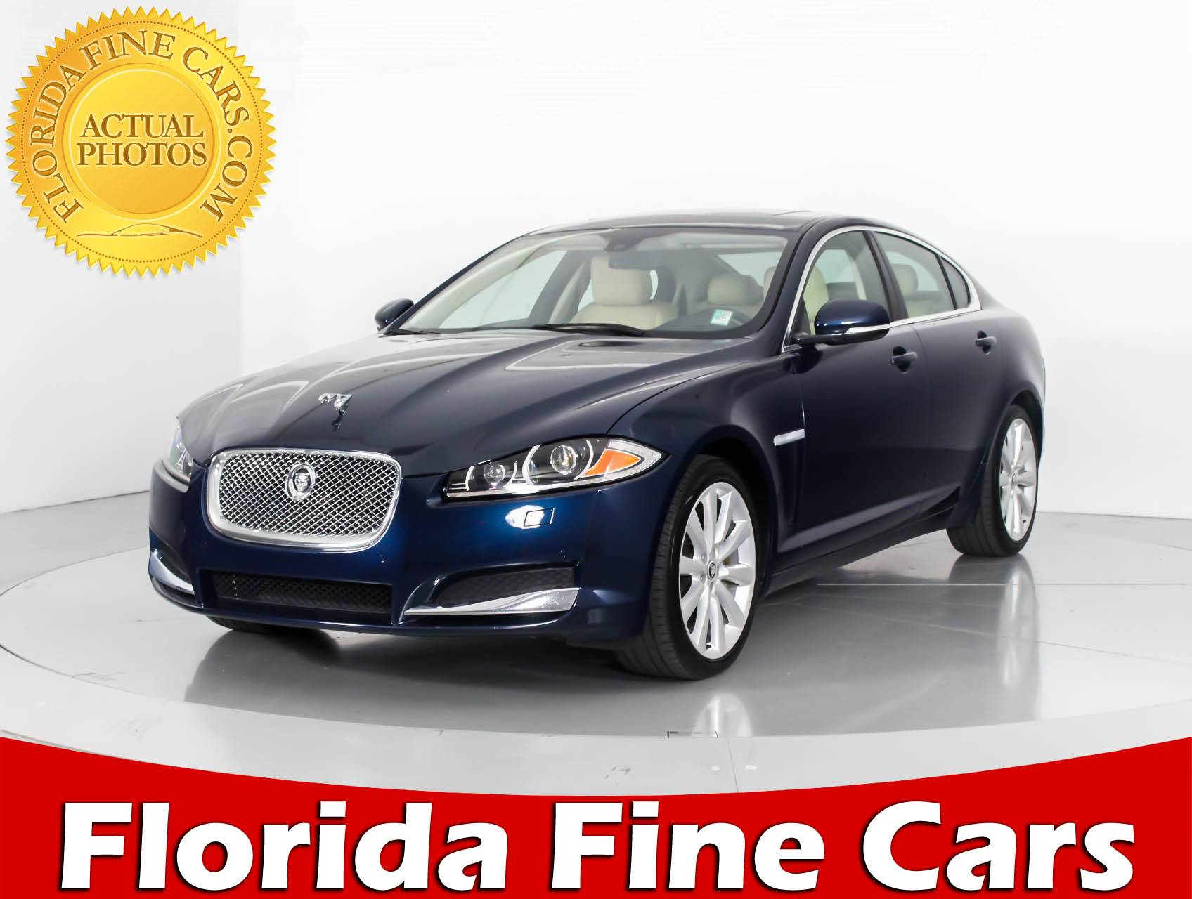 used 2013 jaguar xf sedan for sale in west palm fl