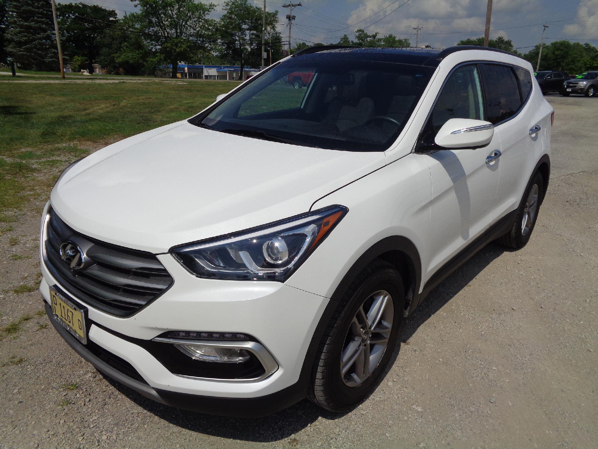 2018 hyundai santa fe sport vehicle photo in rantoul il