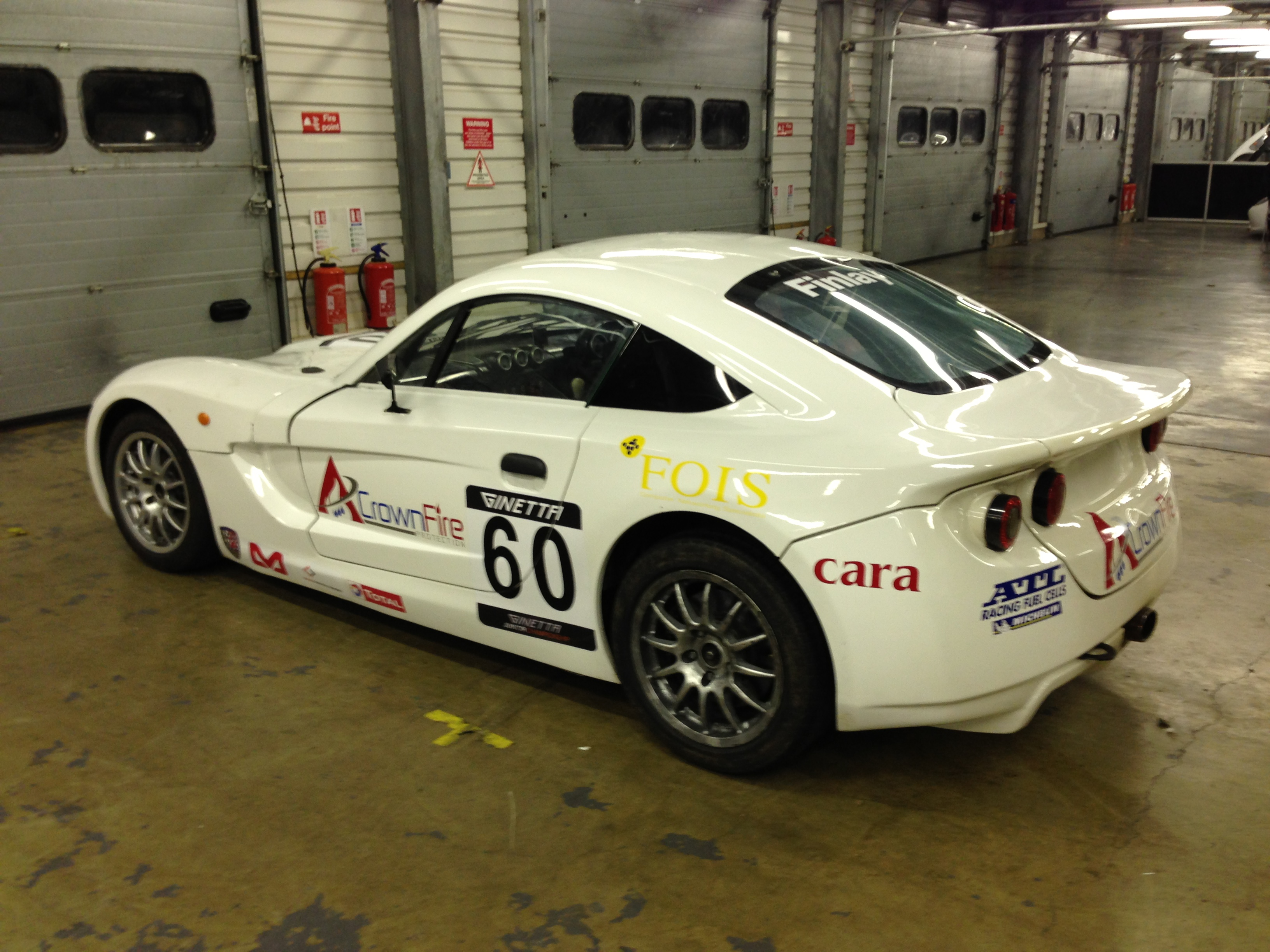 ginetta g40 junior race car northern ireland 100bhp