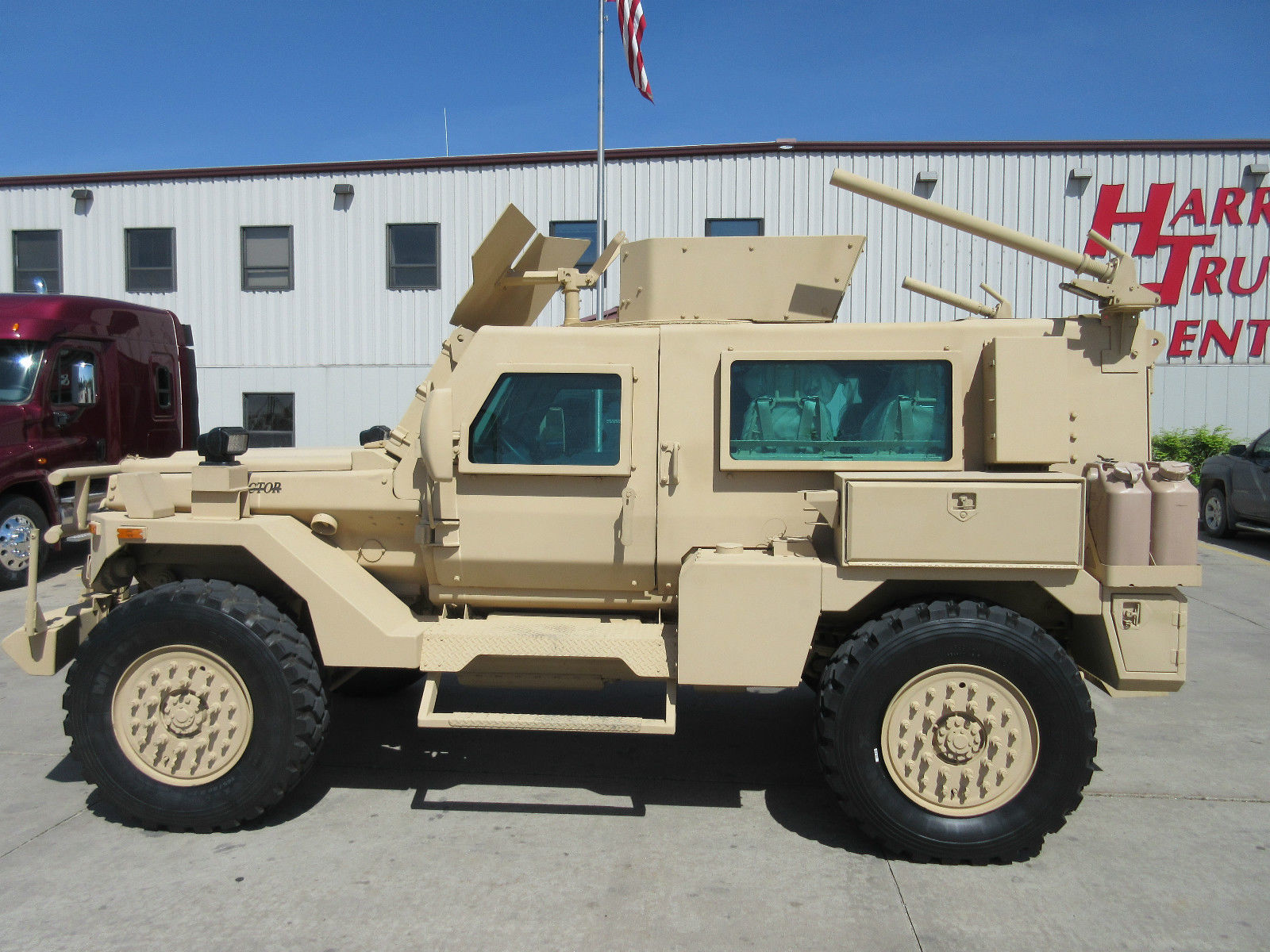 armored military vehicle used in iron man 3 is on ebay