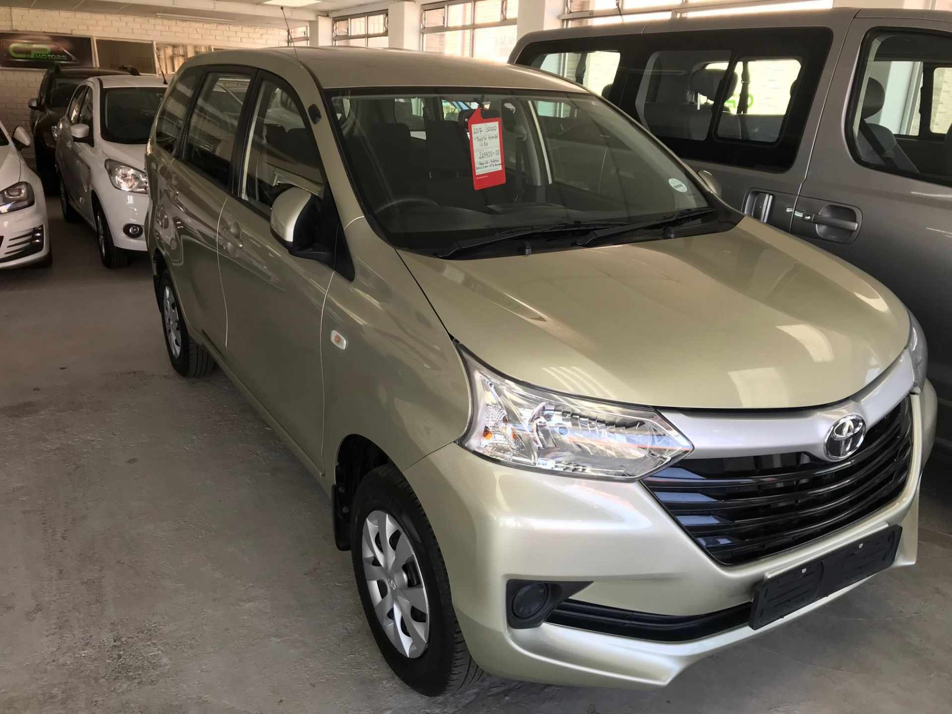 specifications of this toyota avanza