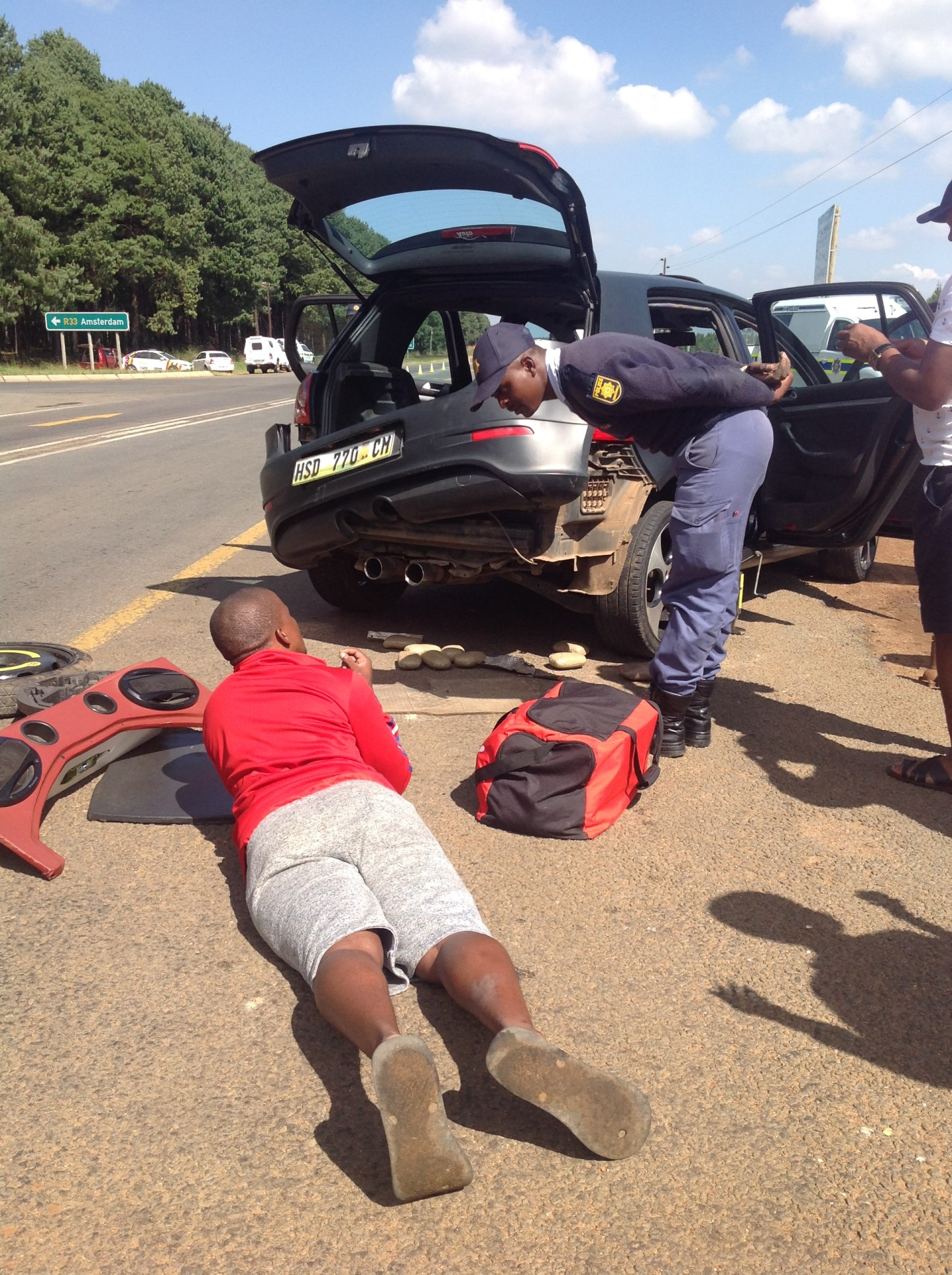 three swazi nationals arrested for dagga dealing in ermelo