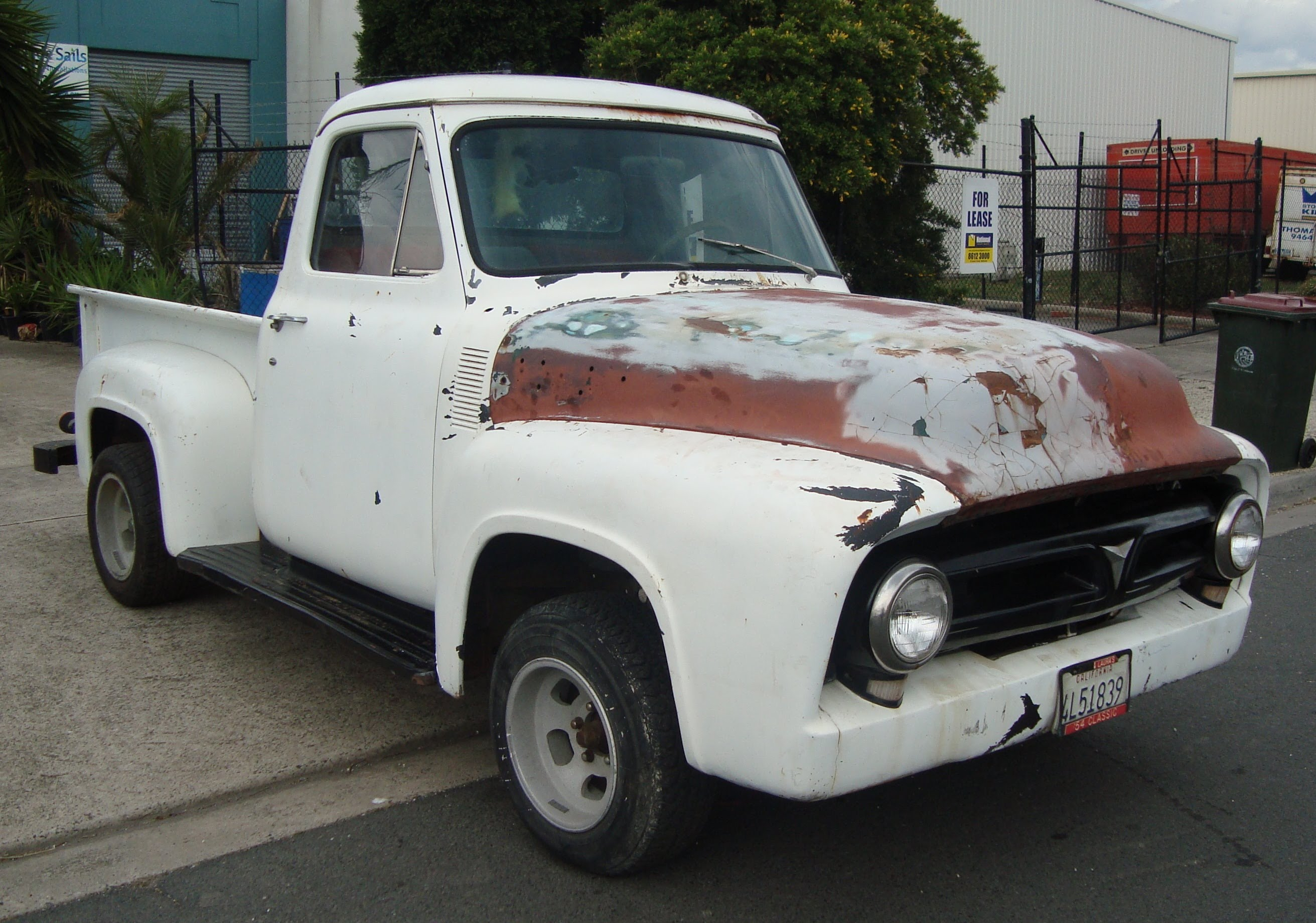 1954 ford f100 1953 1955 1956 v8 auto pick up truck for sale