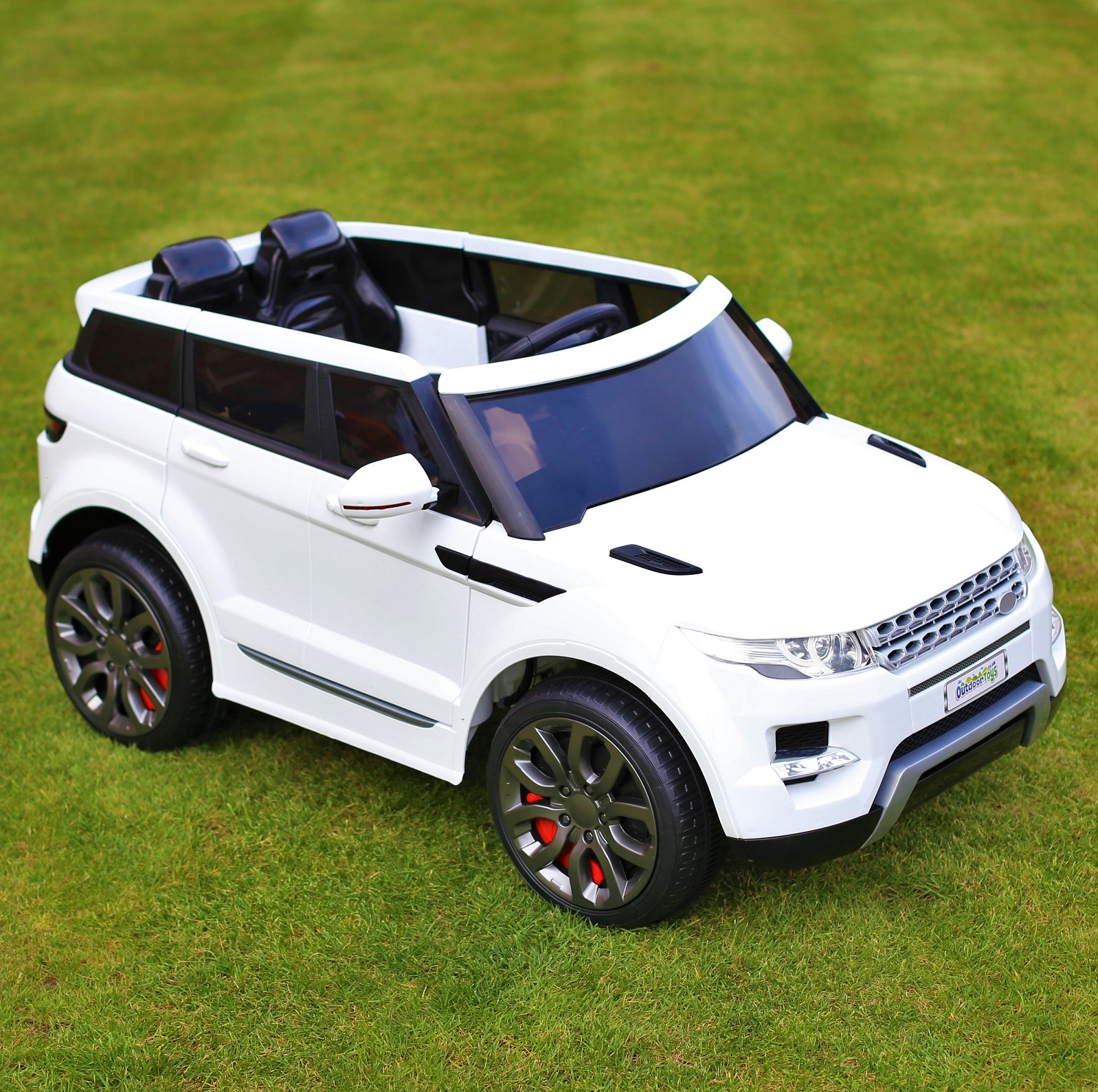 sentinel maxi range rover hse sport style 12v electric battery ride on car jeep white