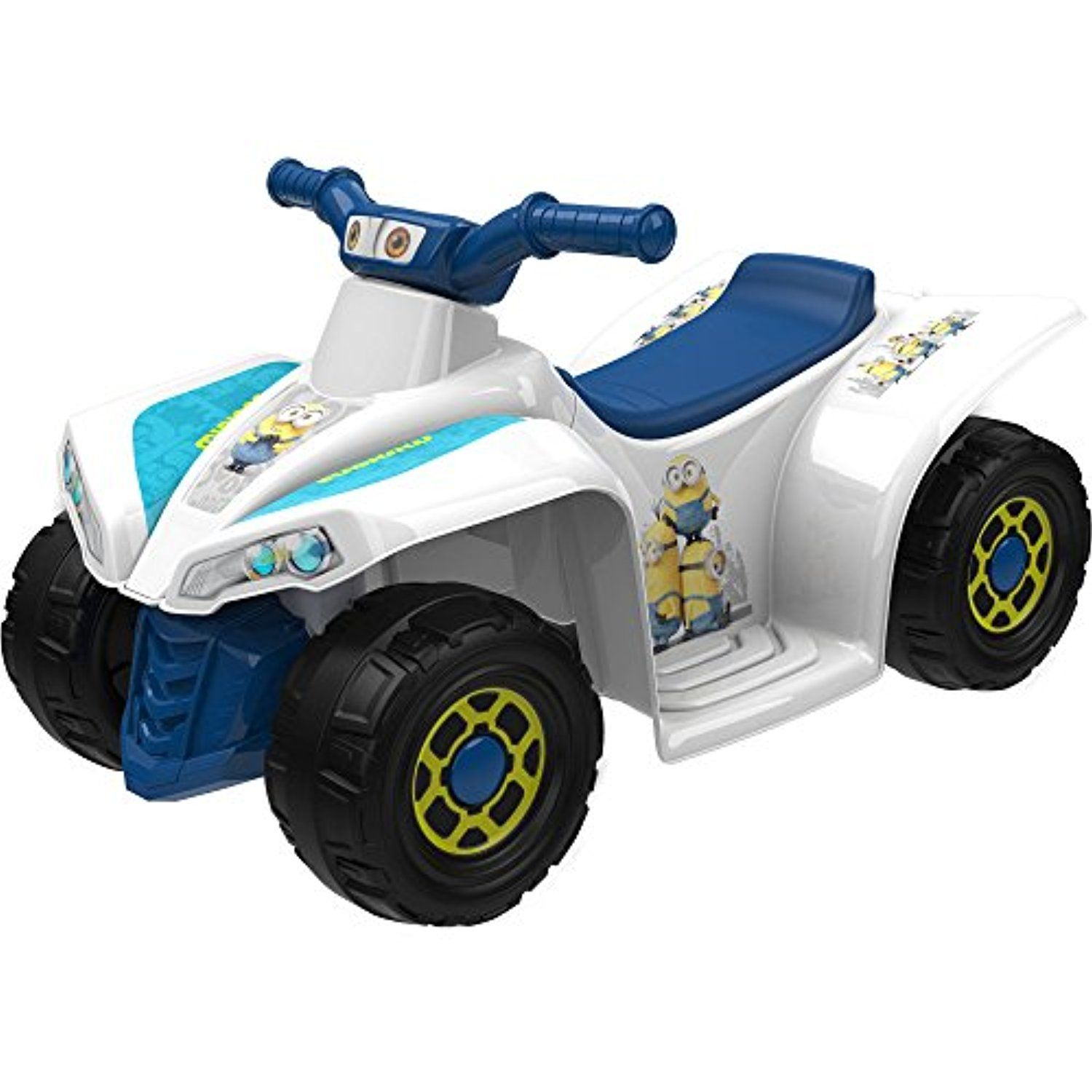 toy car kids minions little quad electric battery powered ride on toy vehicles