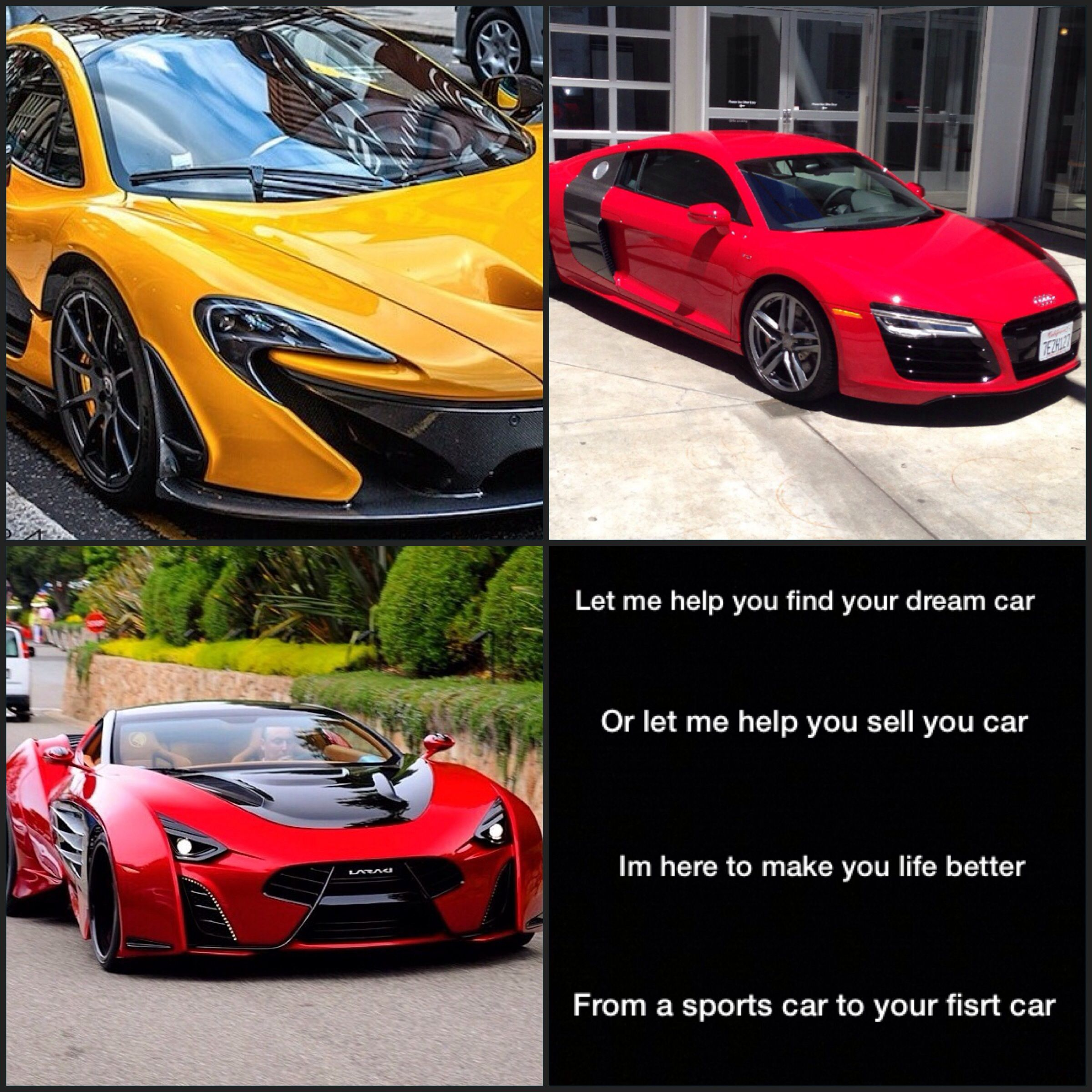 if you looking for a car to or sell let me help you find what
