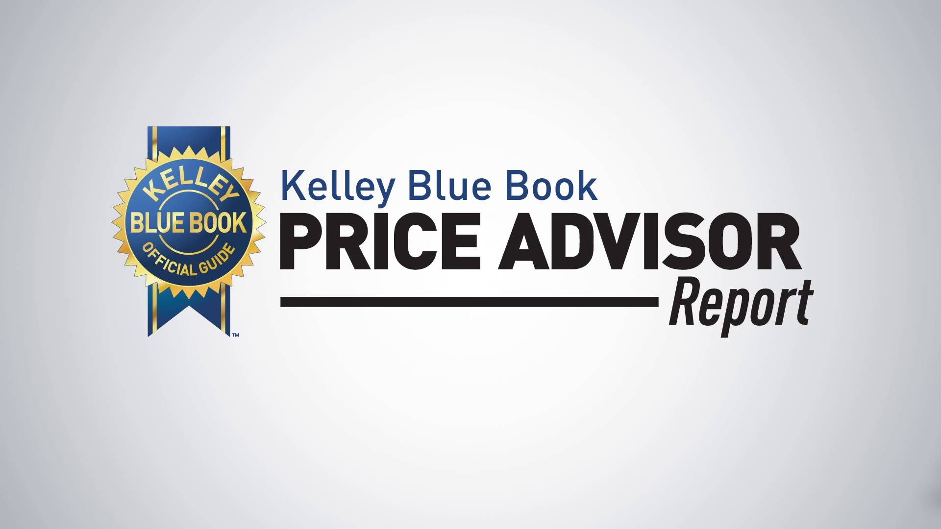 kelley blue book price advisor report used car pricing tool