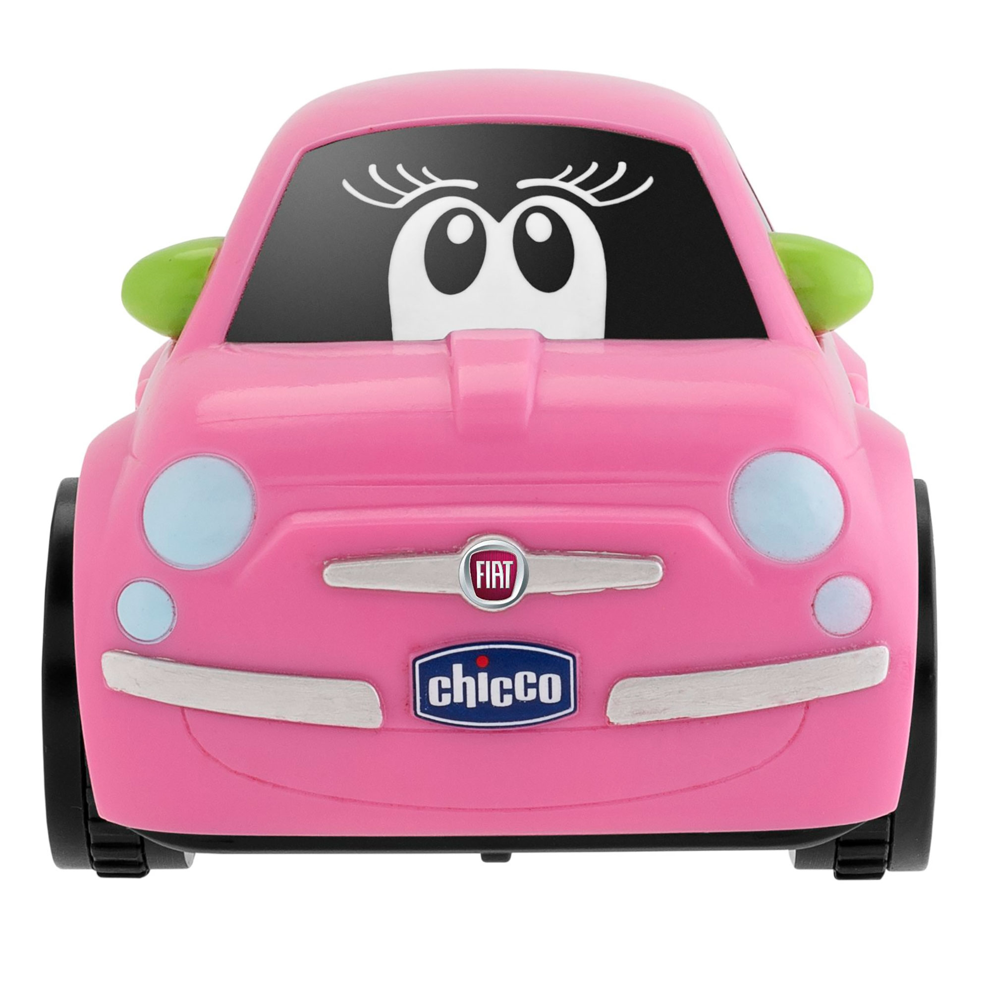 chicco fiat 500 turbo touch baby child toddler play toy car pink