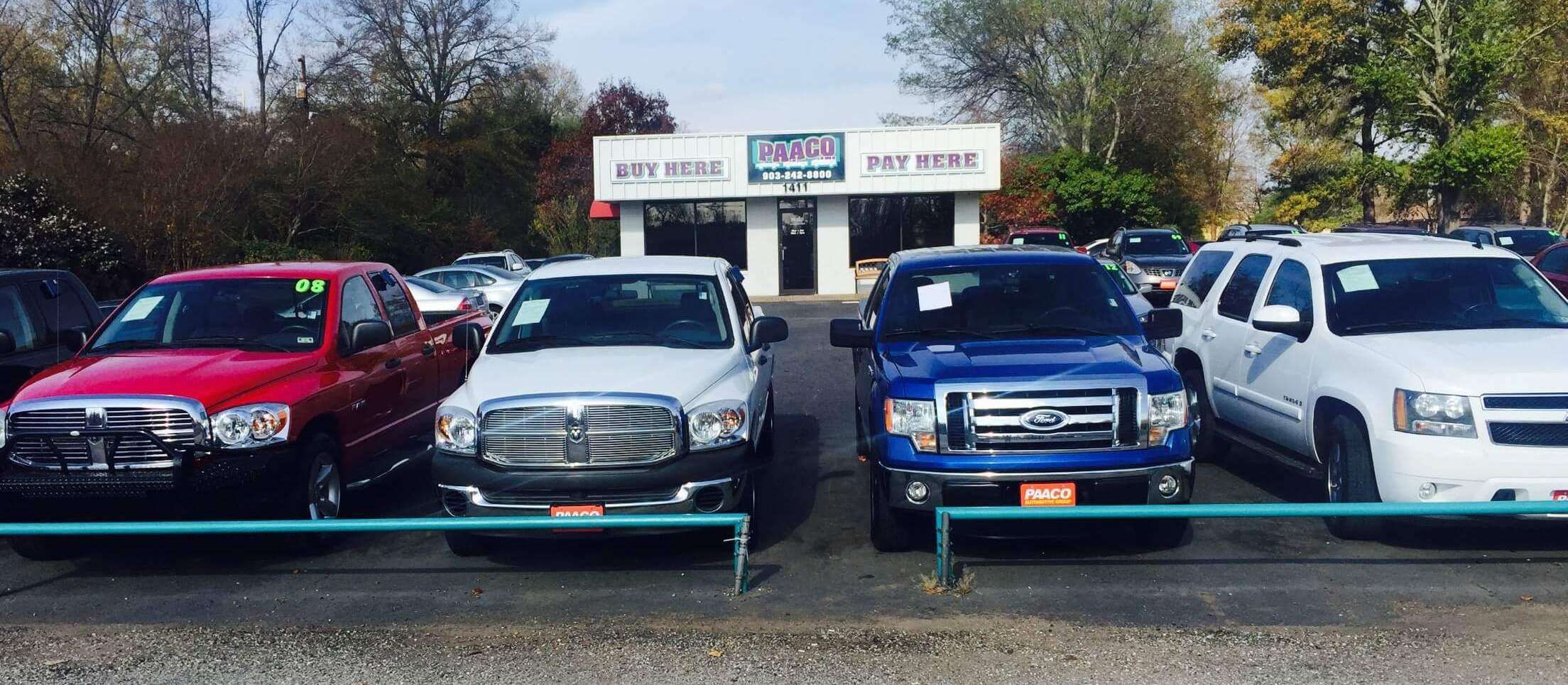 paaco car dealership longview texas