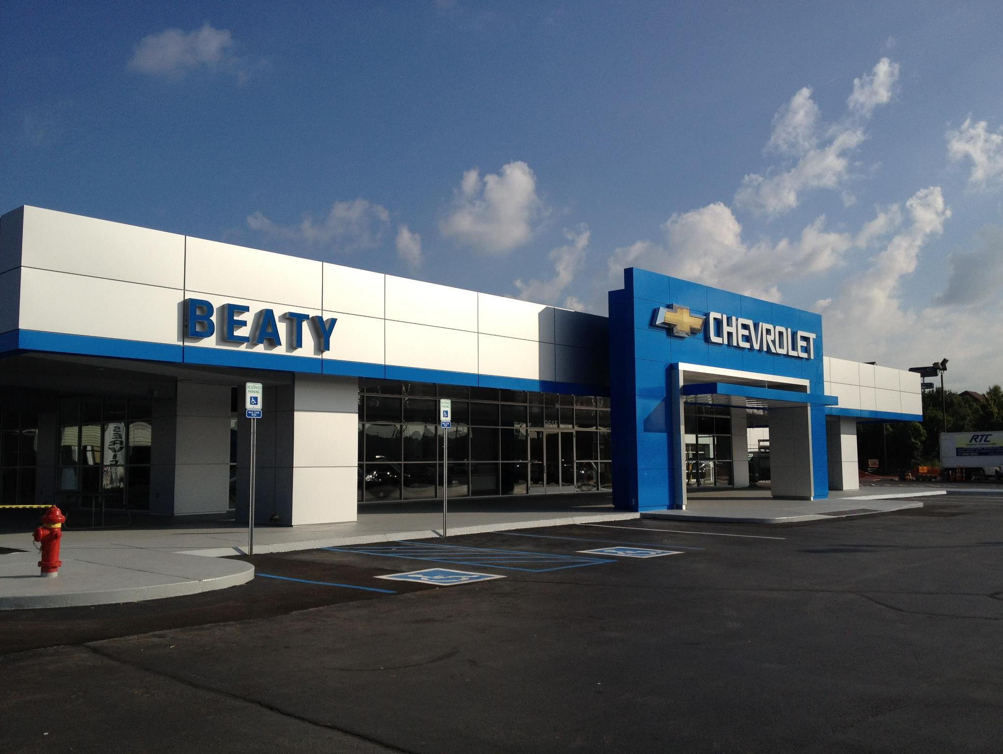 beaty chevrolet in knoxville