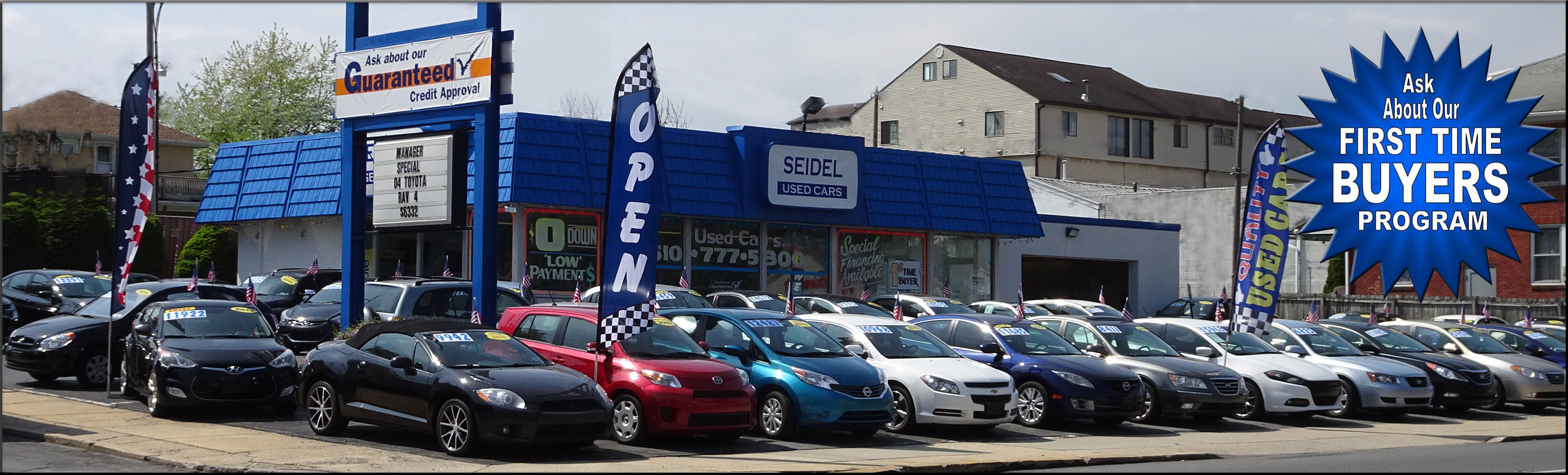 used car dealership