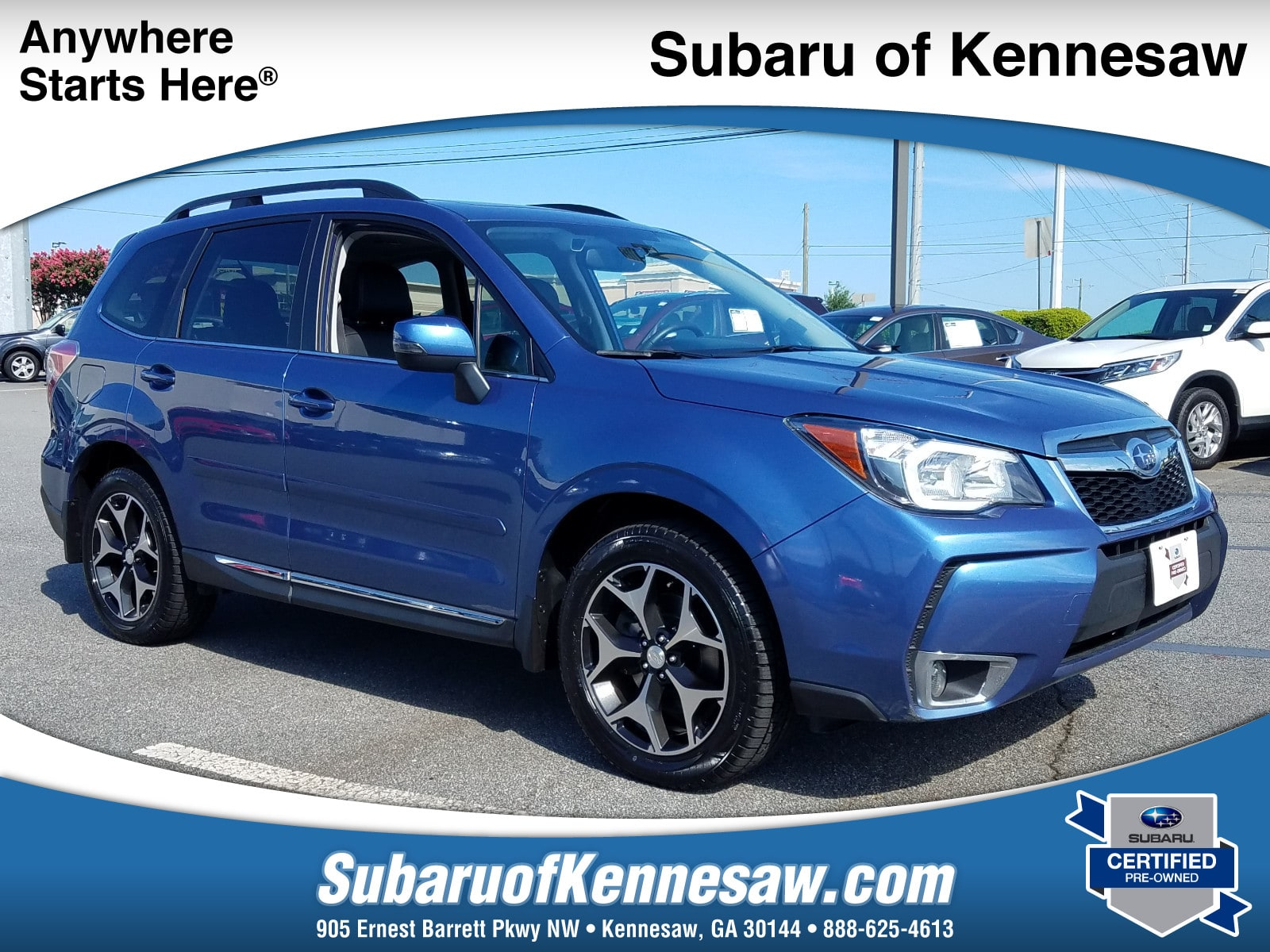 2016 subaru forester 2 0xt touring suv