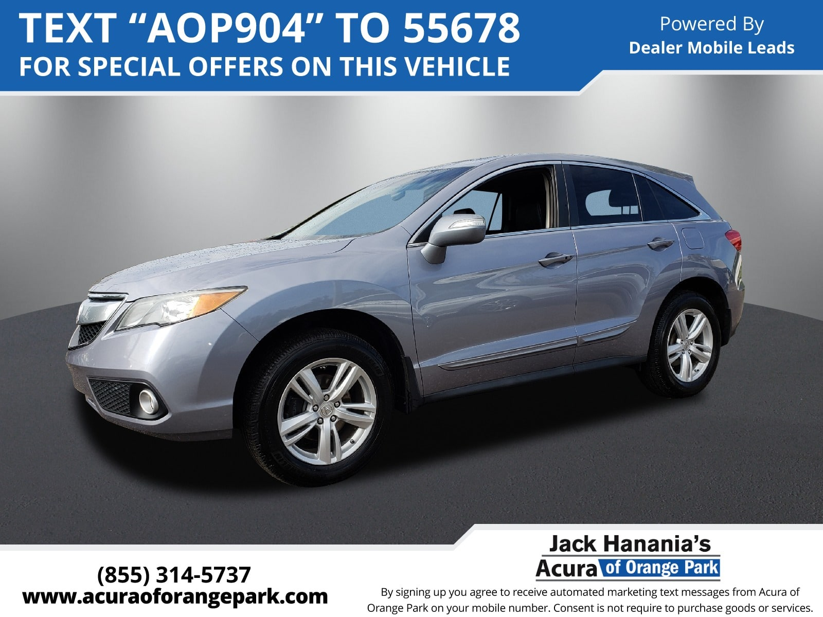 2015 acura rdx base w technology package a6 suv