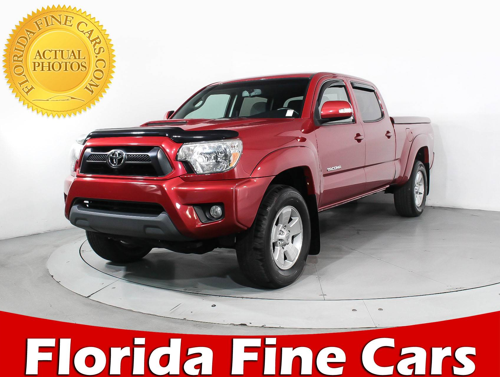 used 2013 toyota ta a crew cab prerunner truck for sale in hollywood fl