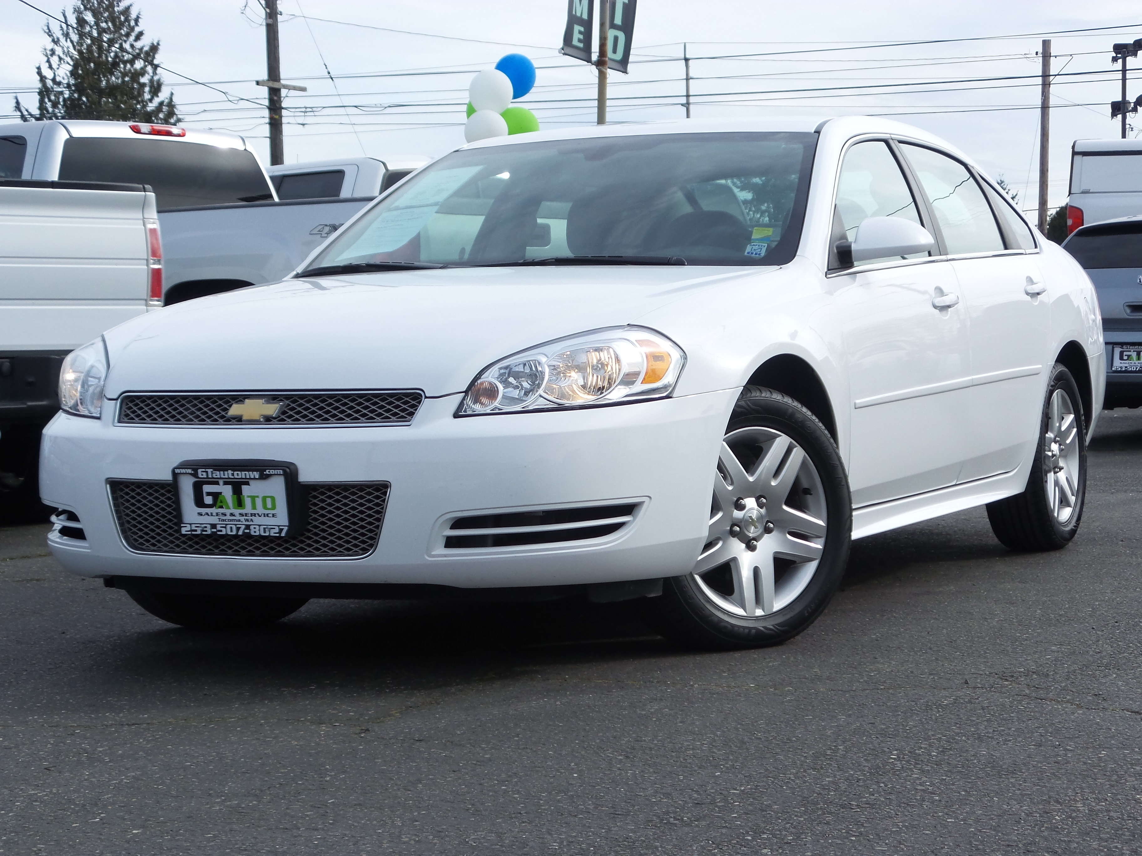 used 2016 chevrolet impala limited for sale ta a wa