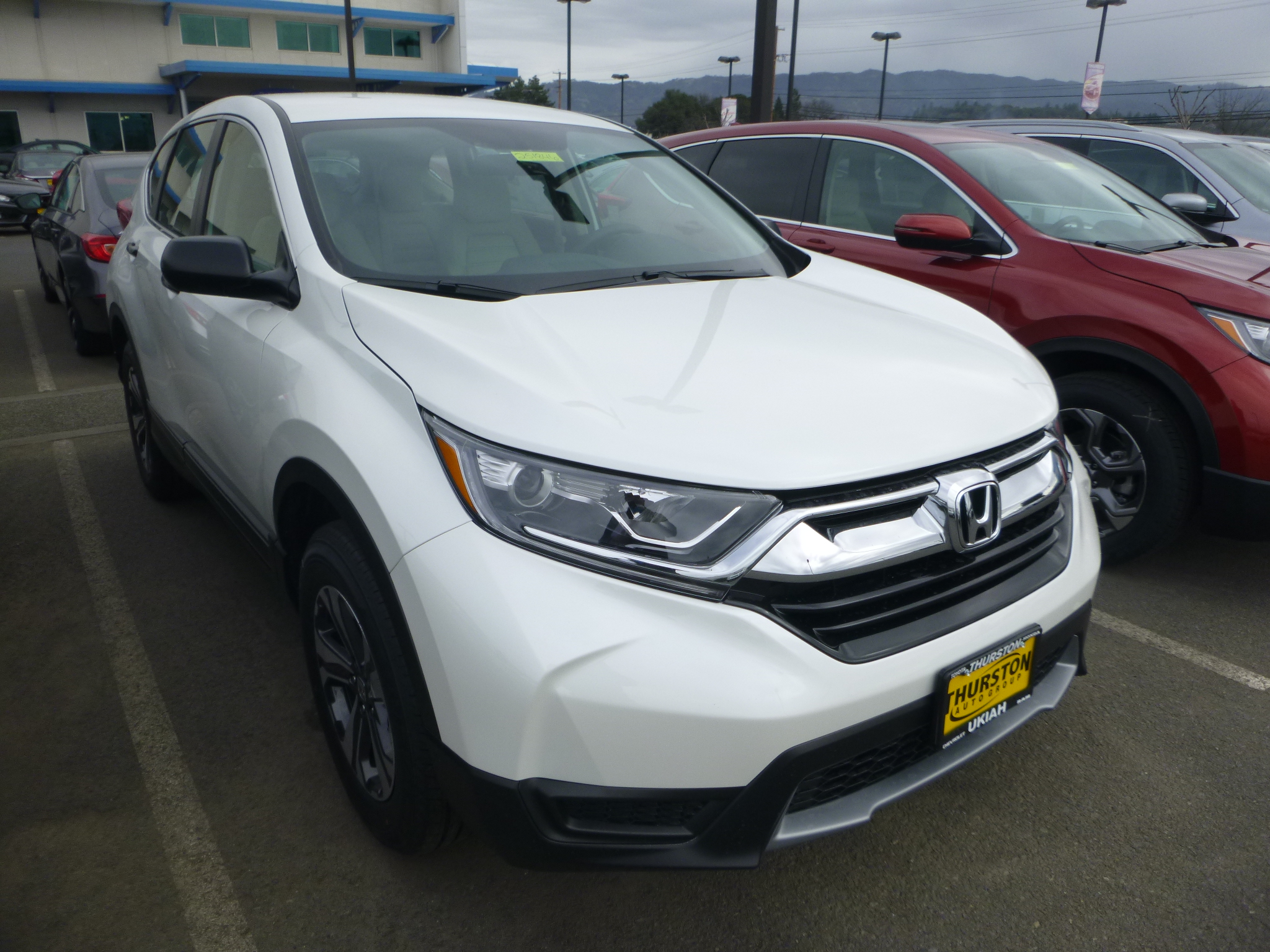 2018 honda cr v lx awd
