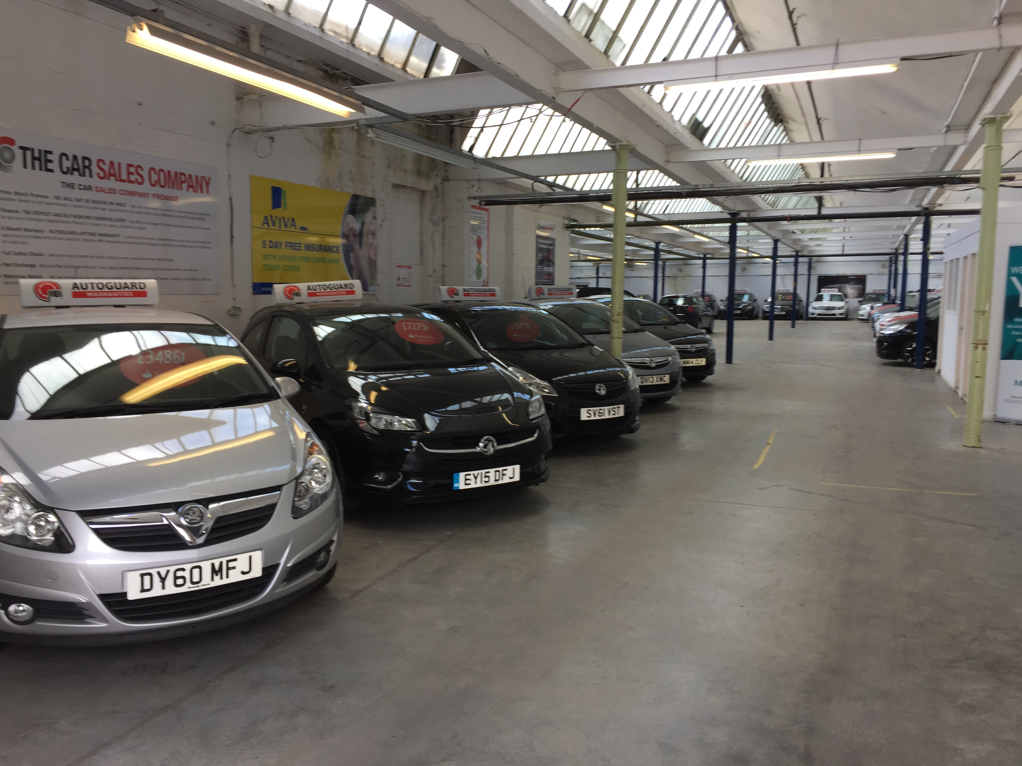 photos of the car sales pany bury
