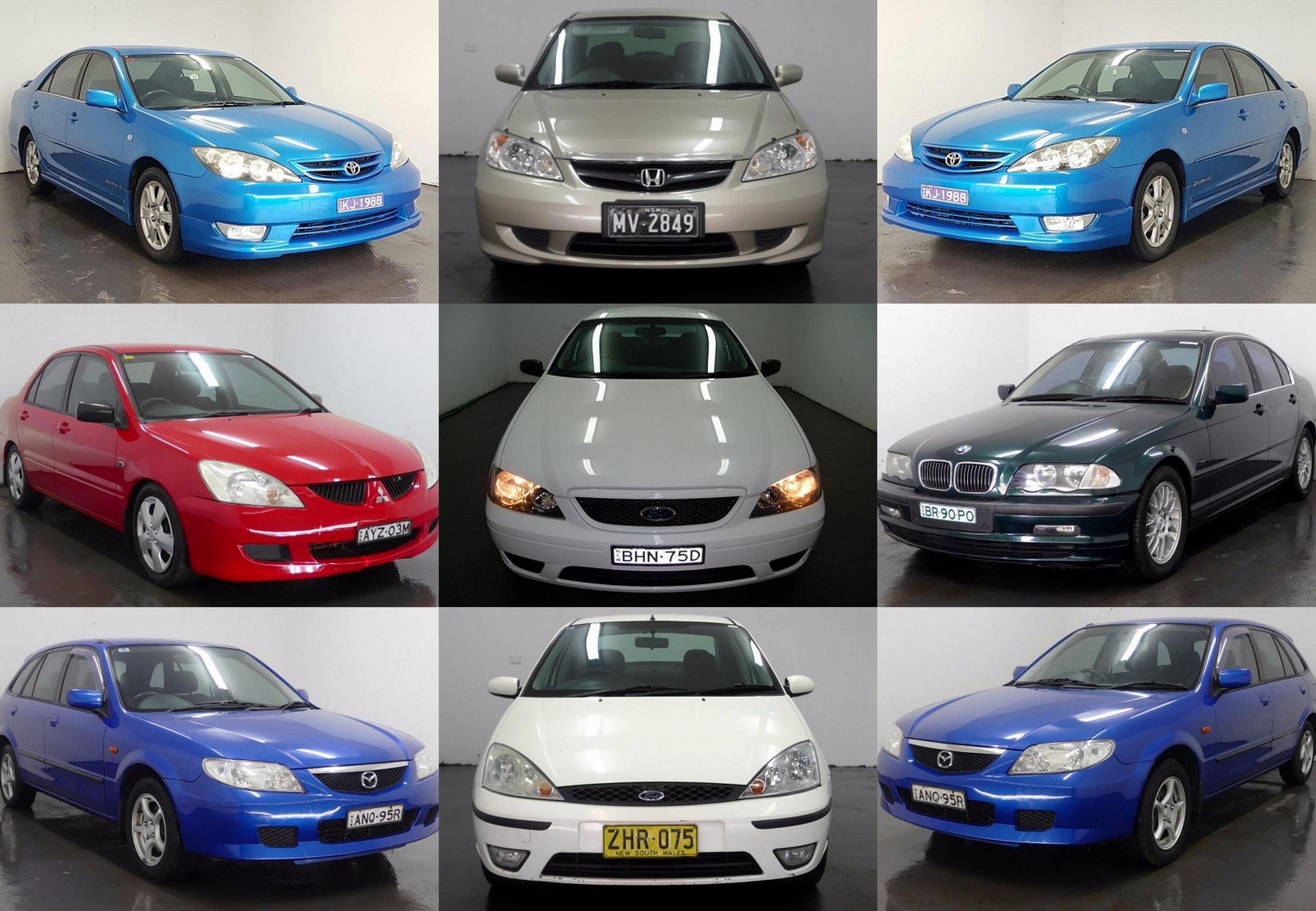 10 top used cars under 6000 all in good running condition