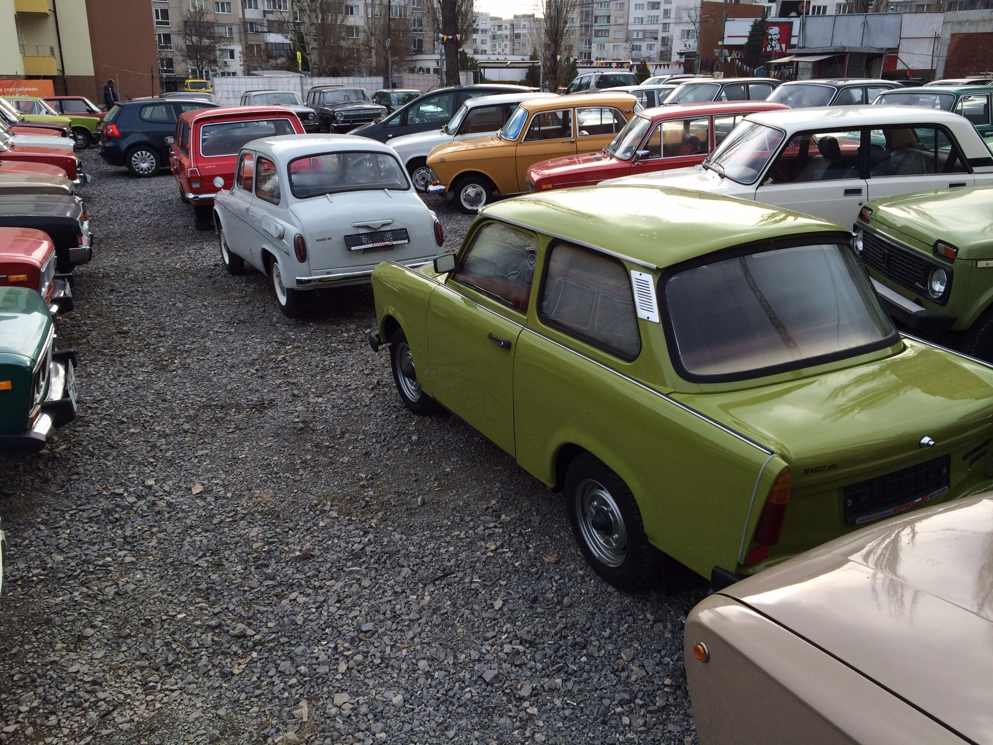 it is located in sofia bulgaria we sell soviet classic cars we make your dreams e true