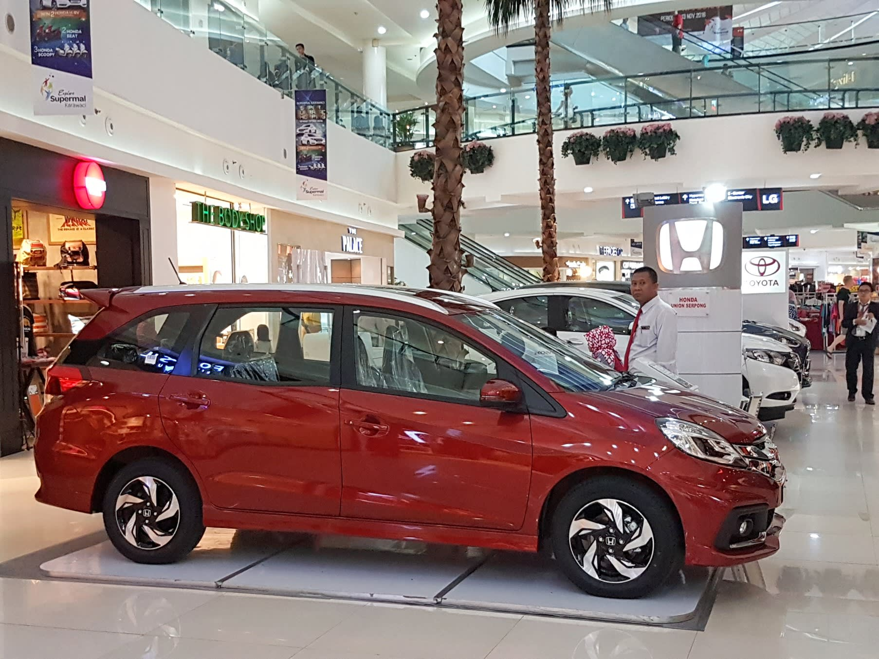 low cost green cars leading sales rally in indonesia