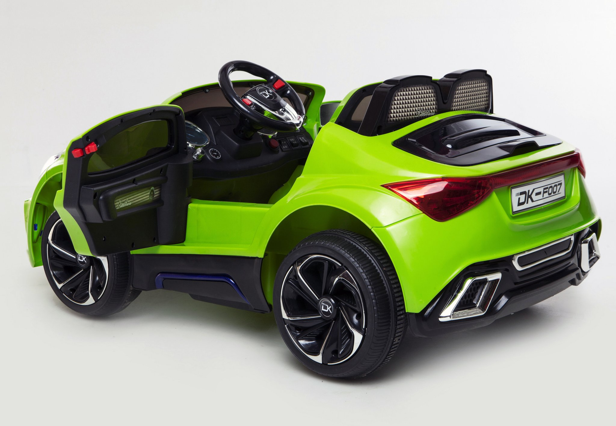12v battery powered kids electric ride on toy car model f007 green