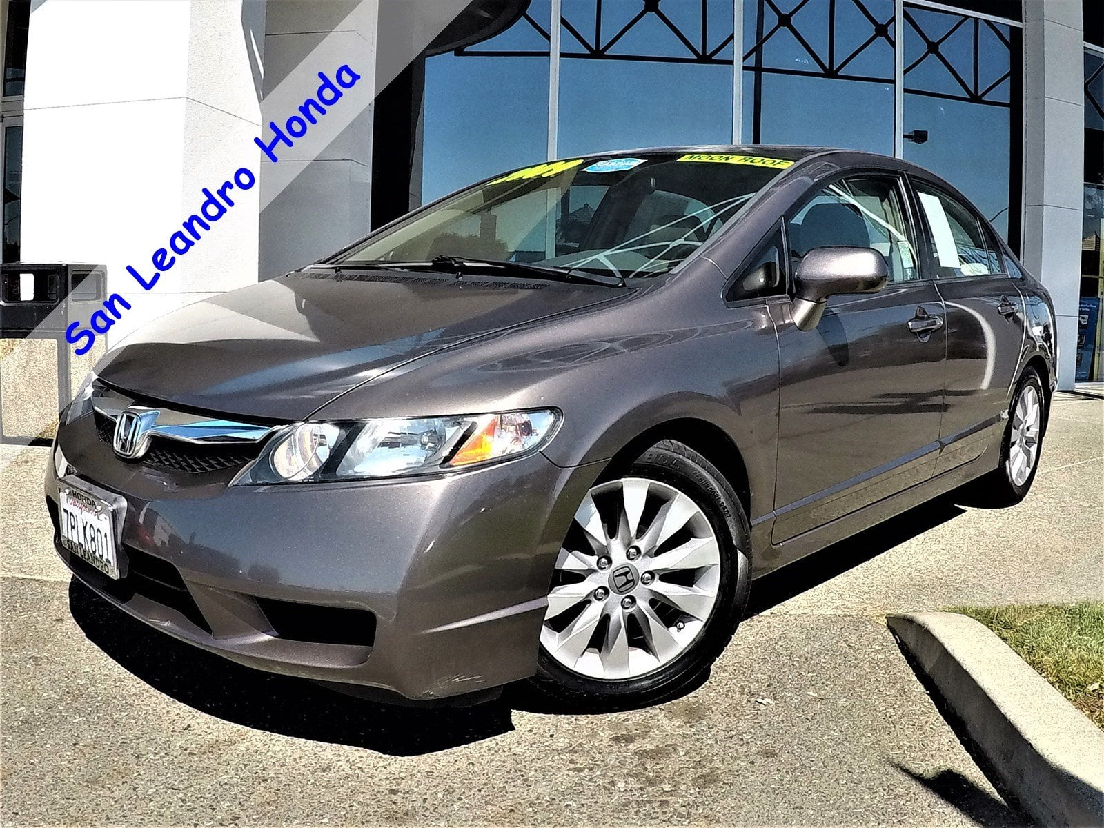 featured pre owned vehicles 2009 honda civic ex sedan for sale near you in san leandro