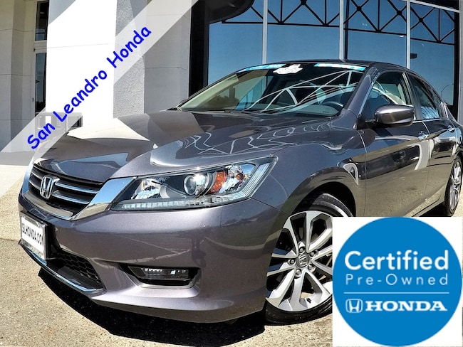 used 2015 honda accord sport sedan for sale san leandro california