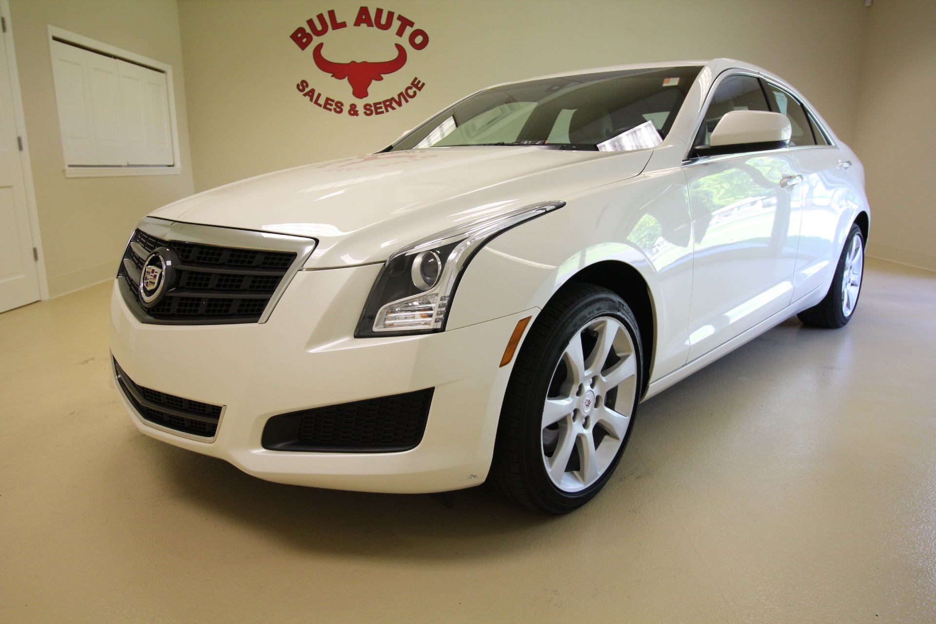 used 2013 cadillac ats 2 0t awd very clean low miles sunroof leather