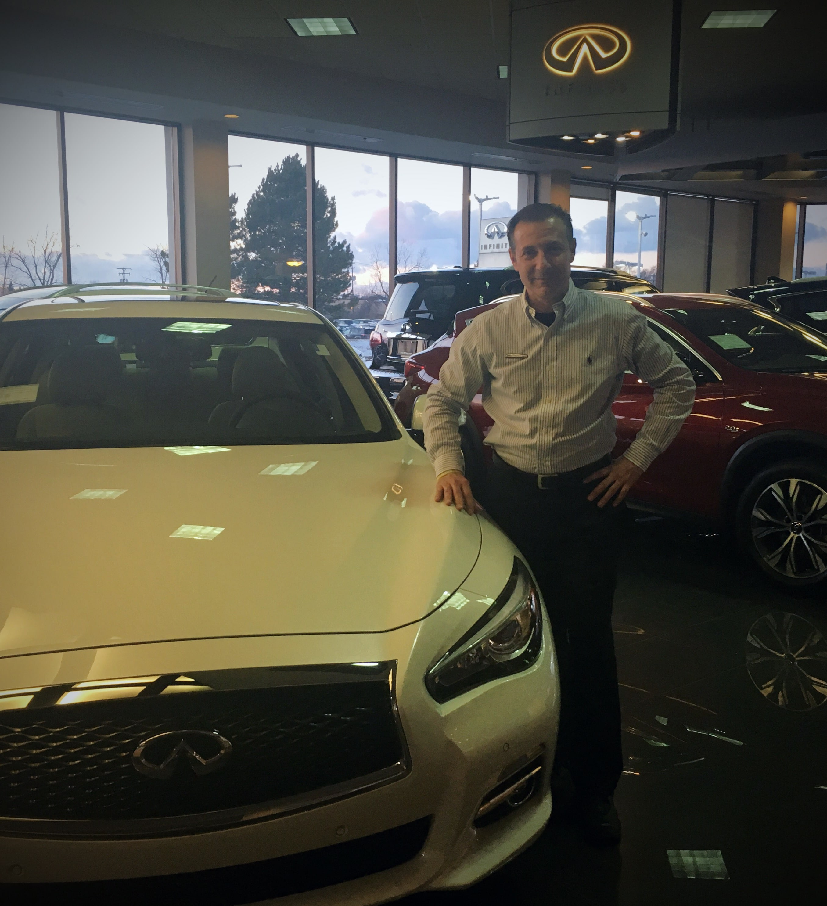 west herr would like to wel e paul alfieri sales leasing professional to our infiniti of williamsville store paul has 26 years of experience in the