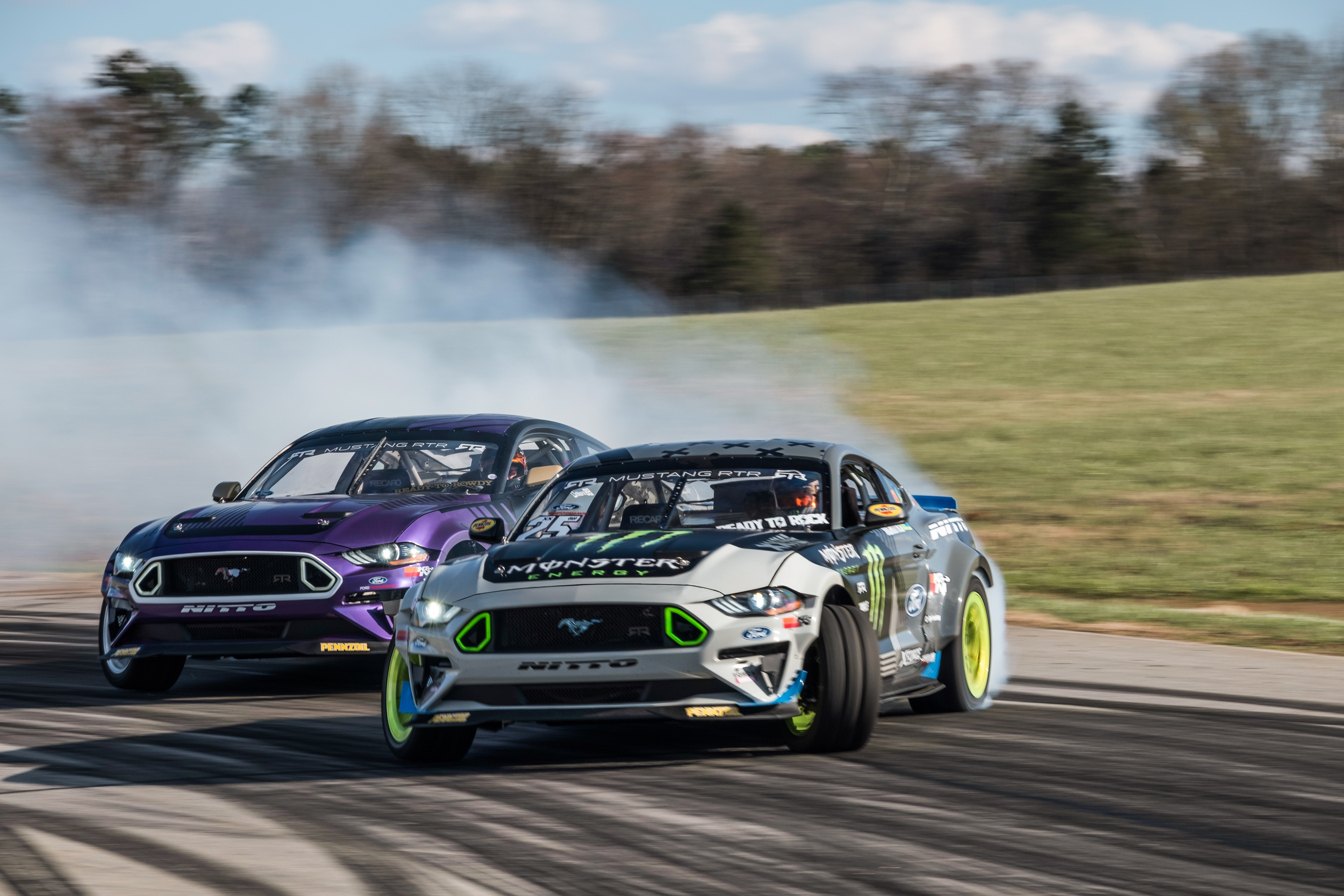 Cars for Sale Near Me Under 3000 Best Of Vaughn Gittin Jr and Chelsea Denofa Unveil 2018 Mustang Rtr formula