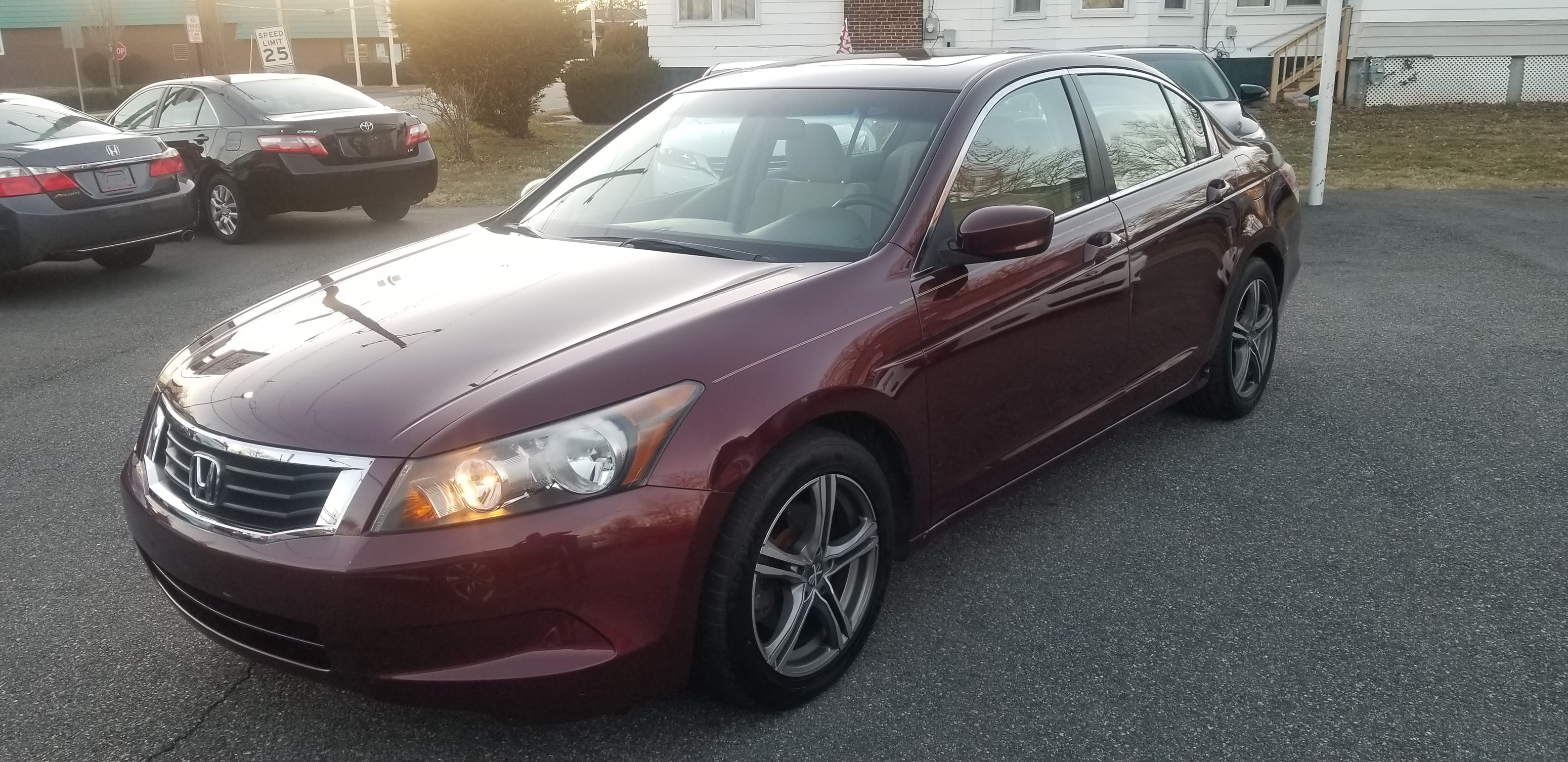 2010 honda accord ex 2 4l 4 cylinder clean title clean carfax runs and drives great sunroof