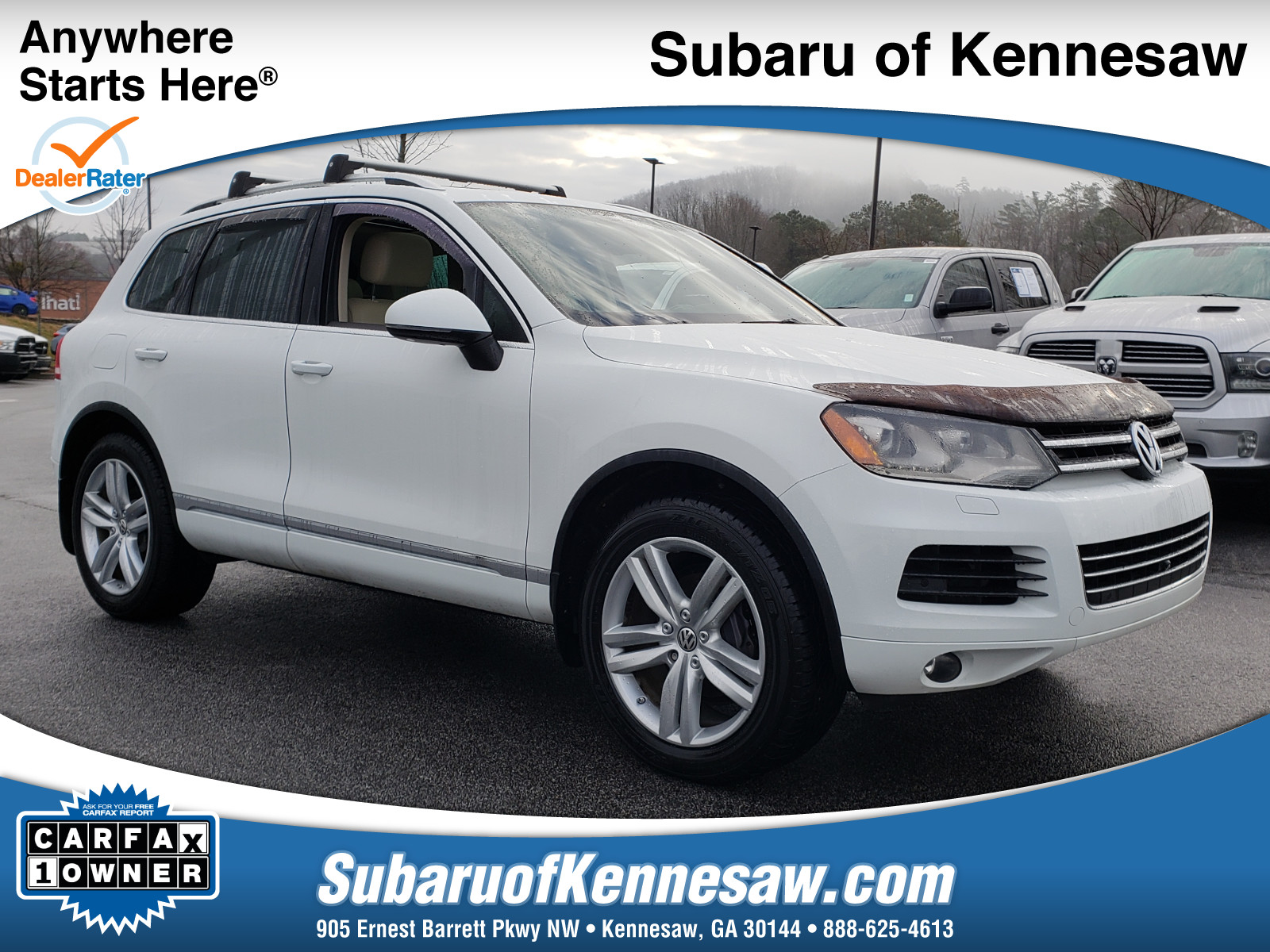 Free Carfax Login and Password Awesome Used 2014 Volkswagen touareg for Sale atlanta In Kennesaw