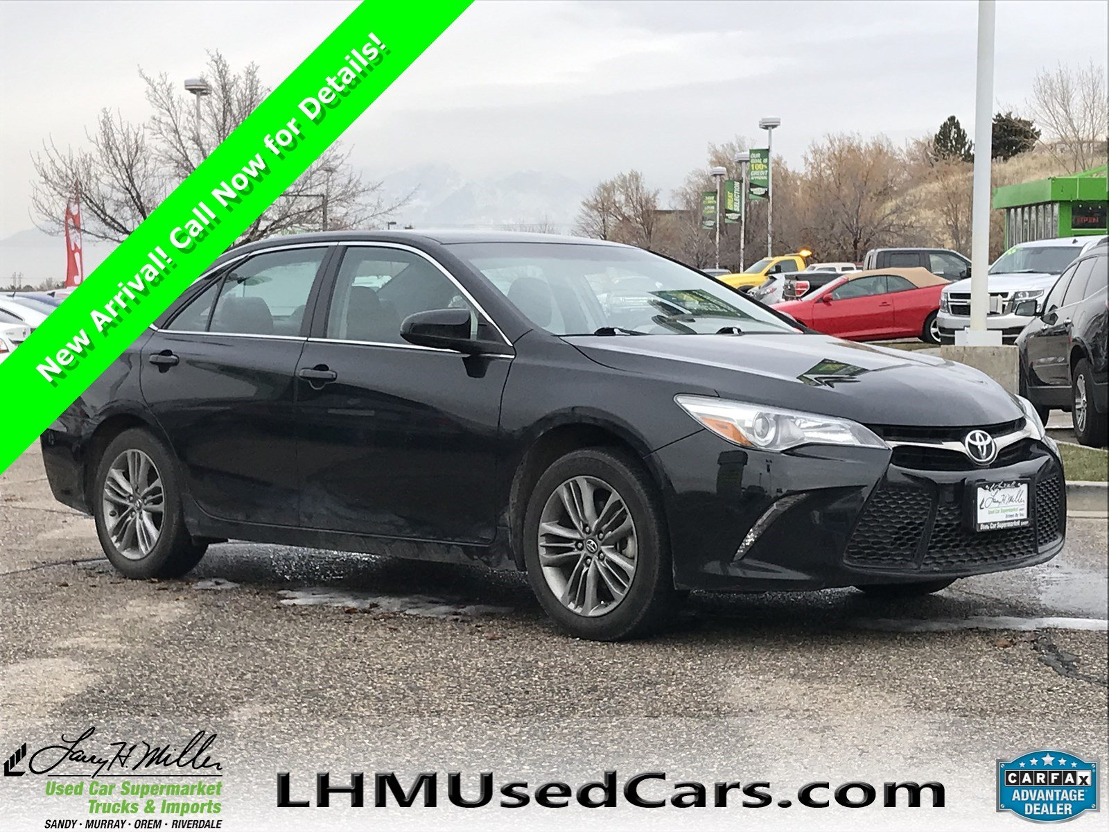 Toyota Used Cars Awesome Pre Owned 2017 toyota Camry 4dr Car In Sandy S5324