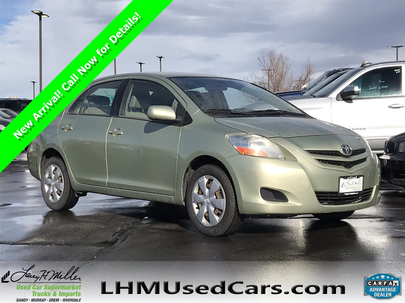 pre owned 2007 toyota yaris