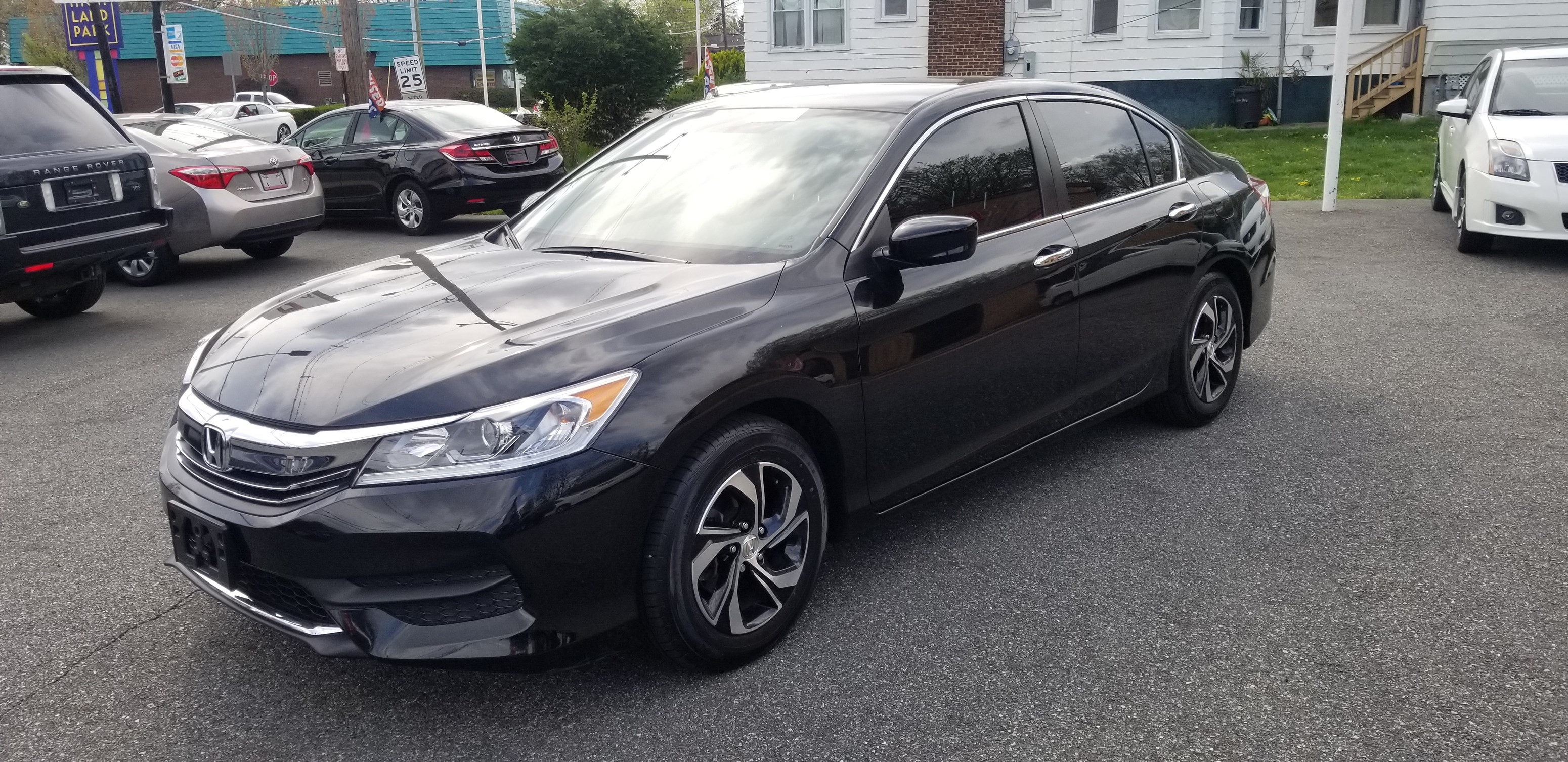 2016 honda accord lx 2 4l 4 cylinder clean carfax 1 owner only 41k miles back up camera bluetooth under honda warranty