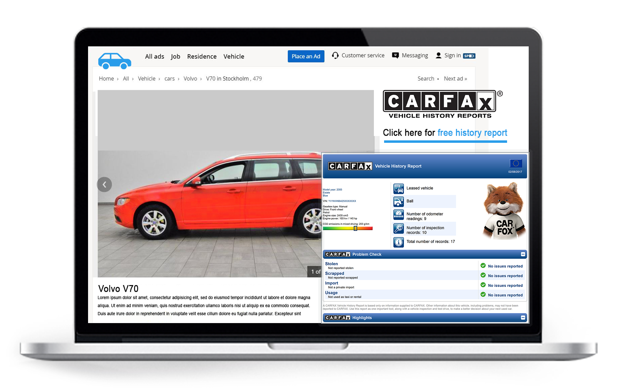 Check Carfax Report Awesome Listing Partners Carfaxcarfax