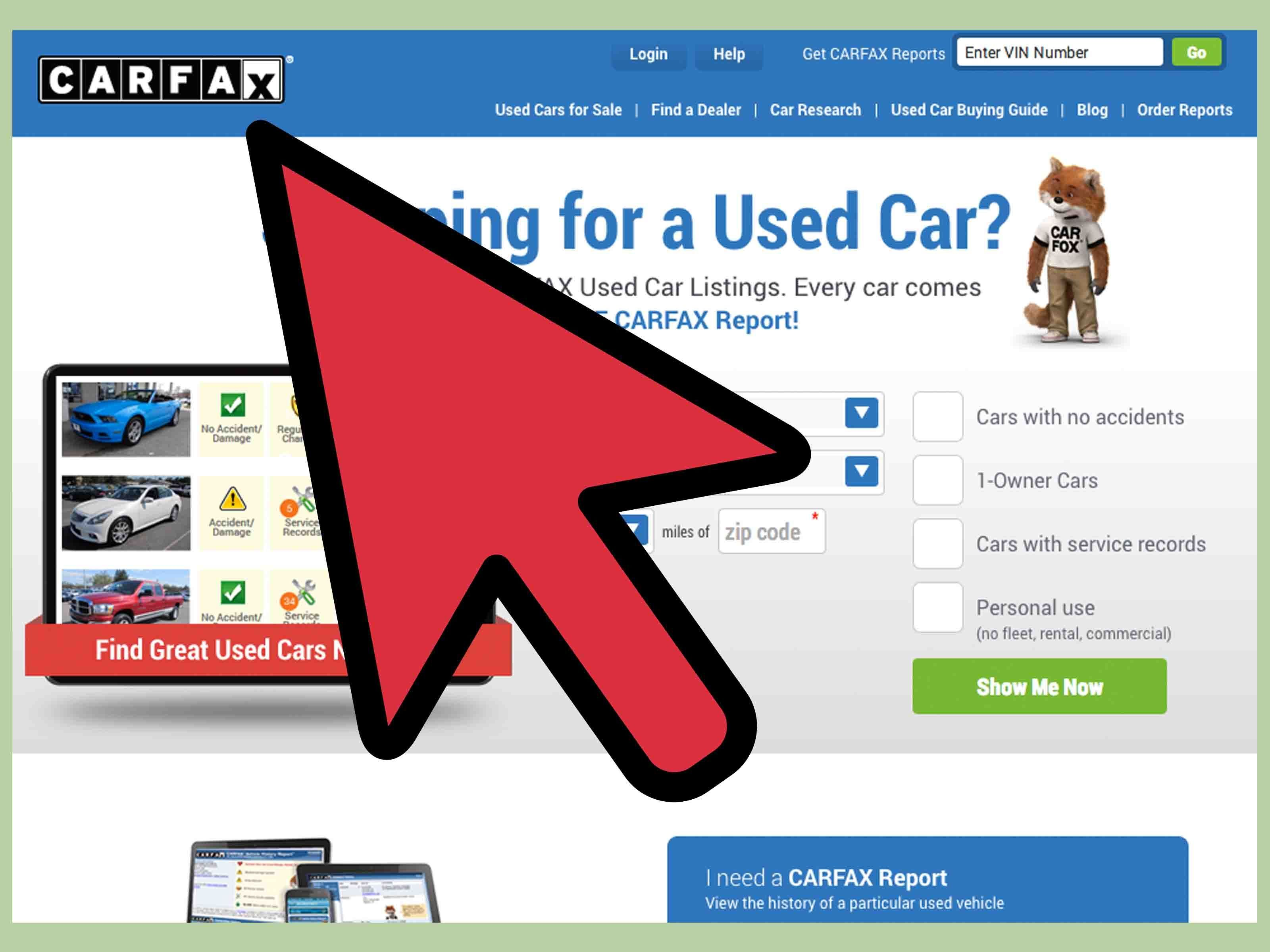 Get Carfax Report Unique Vin Carfax