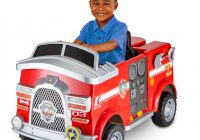 Baby Motor Car Awesome 6 Volt Paw Patrol Marshall Fire Truck by Kid Trax Walmart