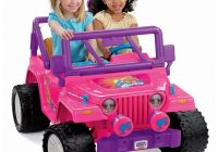 Barbie Car for Kids Inspirational Power Wheels Barbie Jammin Jeep Wrangler by Fisher Price On