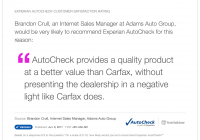Better Than Carfax Lovely Experian Autocheck Techfact Experian Autocheck Customer