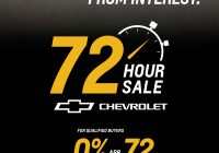 Car for Sale 0 Finance Best Of Chevrolet 72 Hour Sales event
