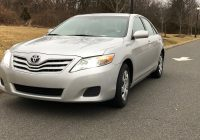 Car for Sale by Owner Fresh Single Owner Private Sale Camry Le 2010 Used toyota Camry Cars In