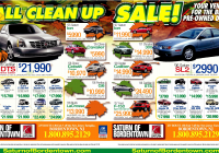Car Sale Advertisement New Fall Cars Clean Up Sale at Bordentown Nj